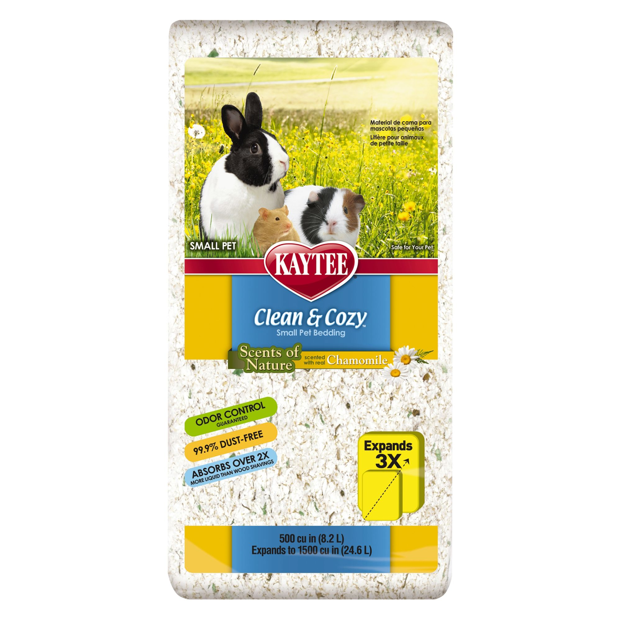 Kaytee Clean and Cozy, Chamomile Small Animal Bedding size: 27.9 L 5253849