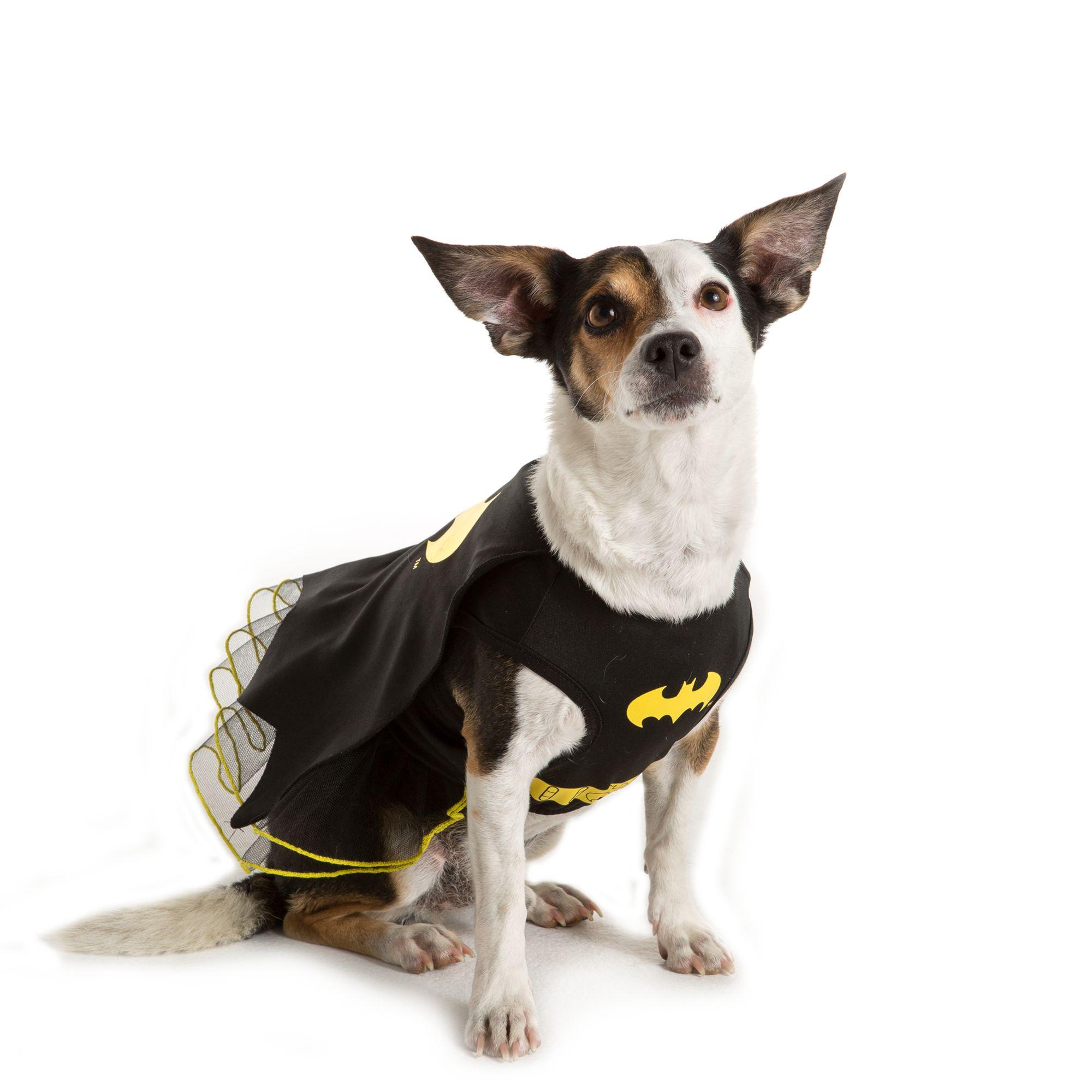 Dc Comics Batman Dress Pet Costume Size 2x Large