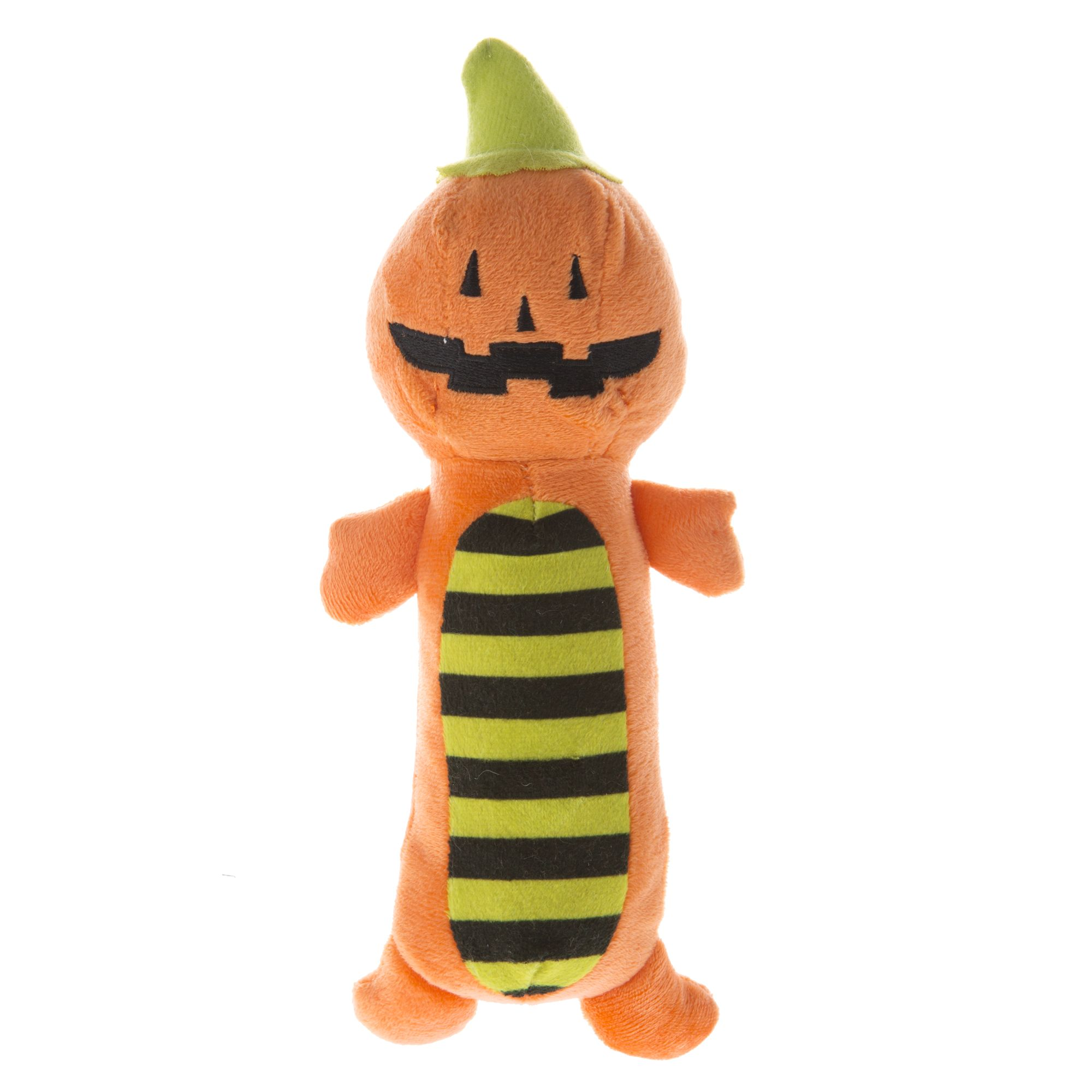 Thrills and Chills, Pet Halloween Pumpkin Long Body Dog Toy 5253936