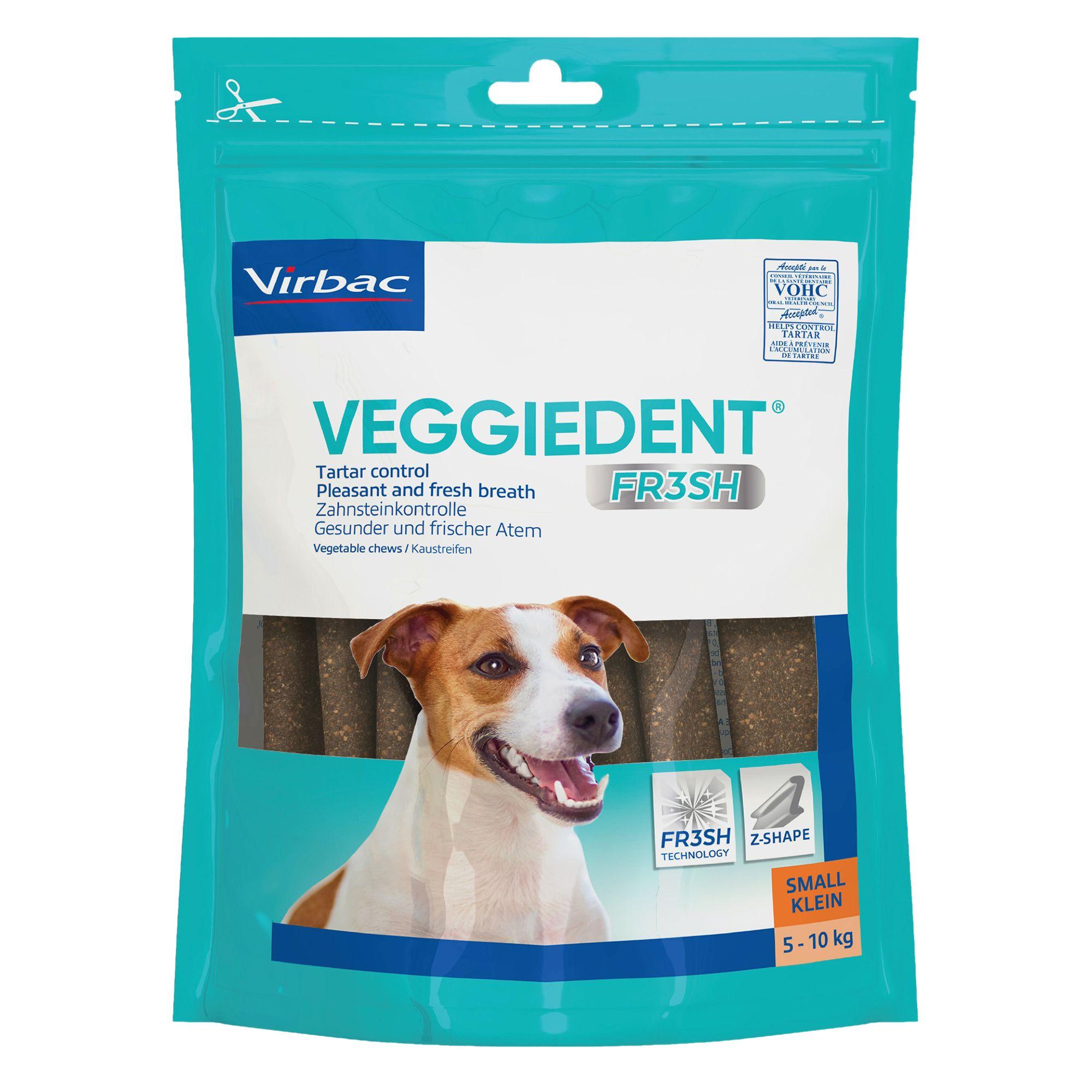 Virbac C.e.t Vegdent Tarter Control Dog Chews Size Small