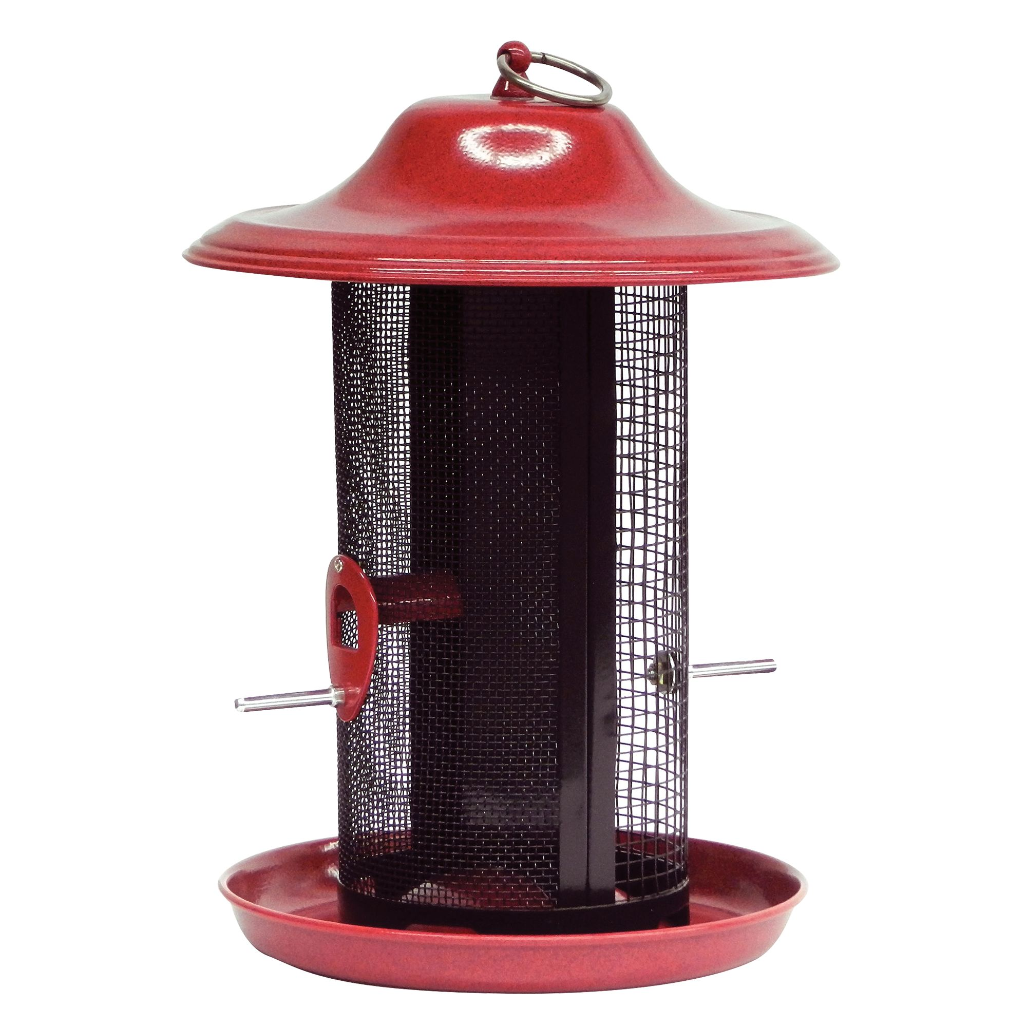 Stokes Select Red Rock Twin Chamber Bird Seed Feeder