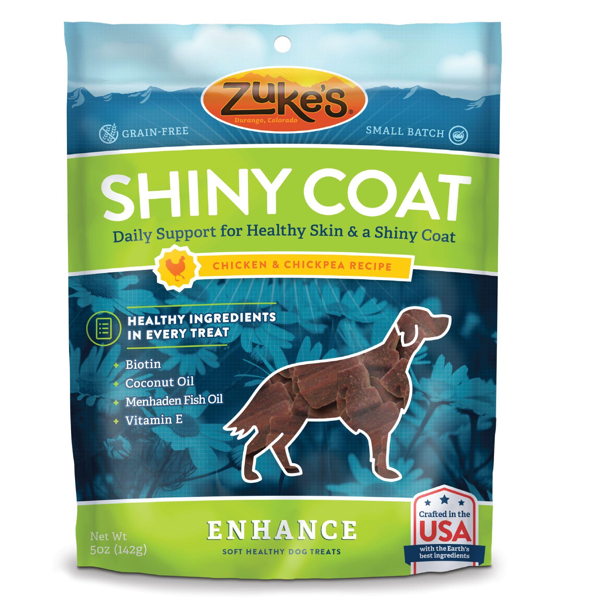 Zuke's® Enhance Shiny Coat Dog Chews - Grain Free, Skin
