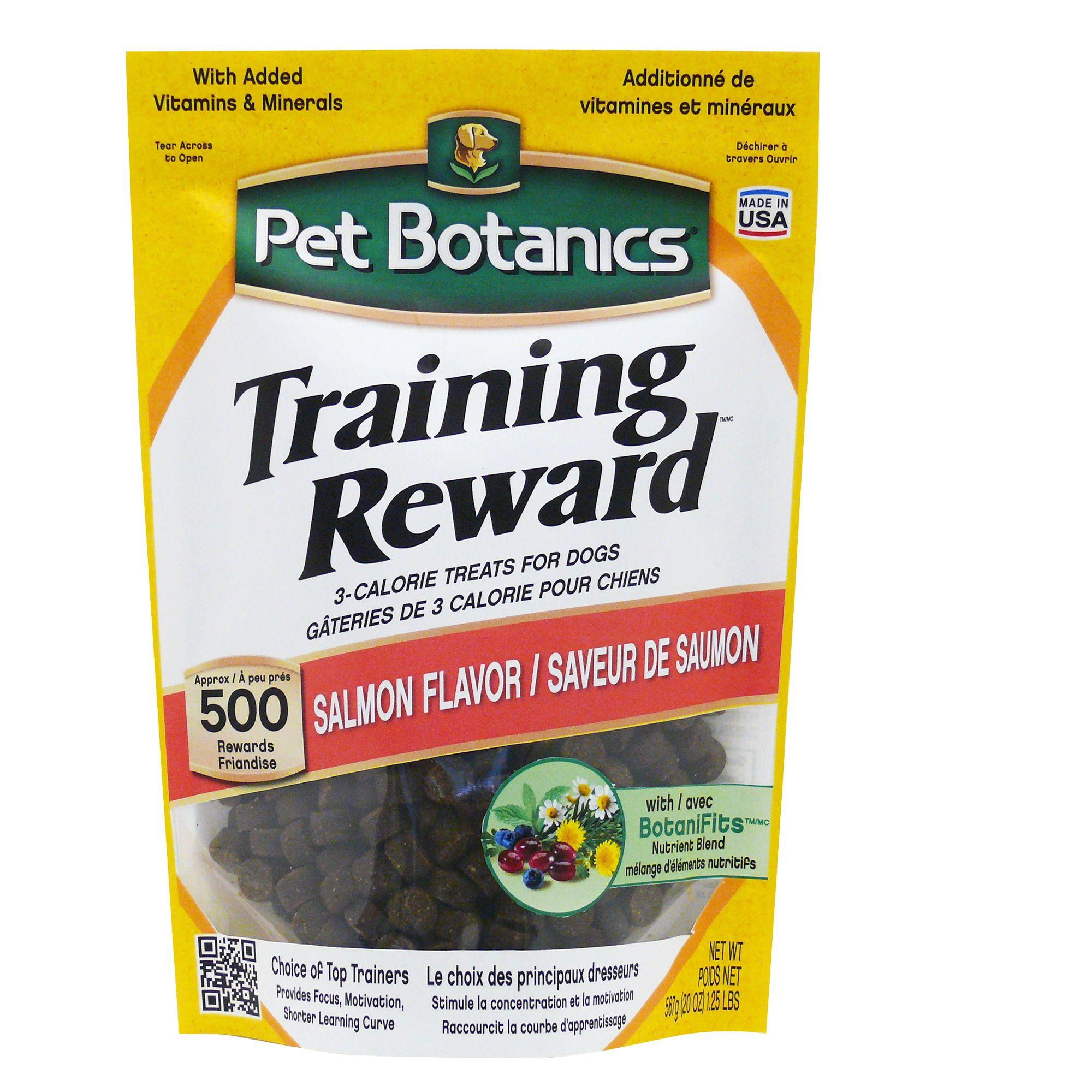 Pet Botanics Training Reward Dog Treat Salmon Size 20 Oz