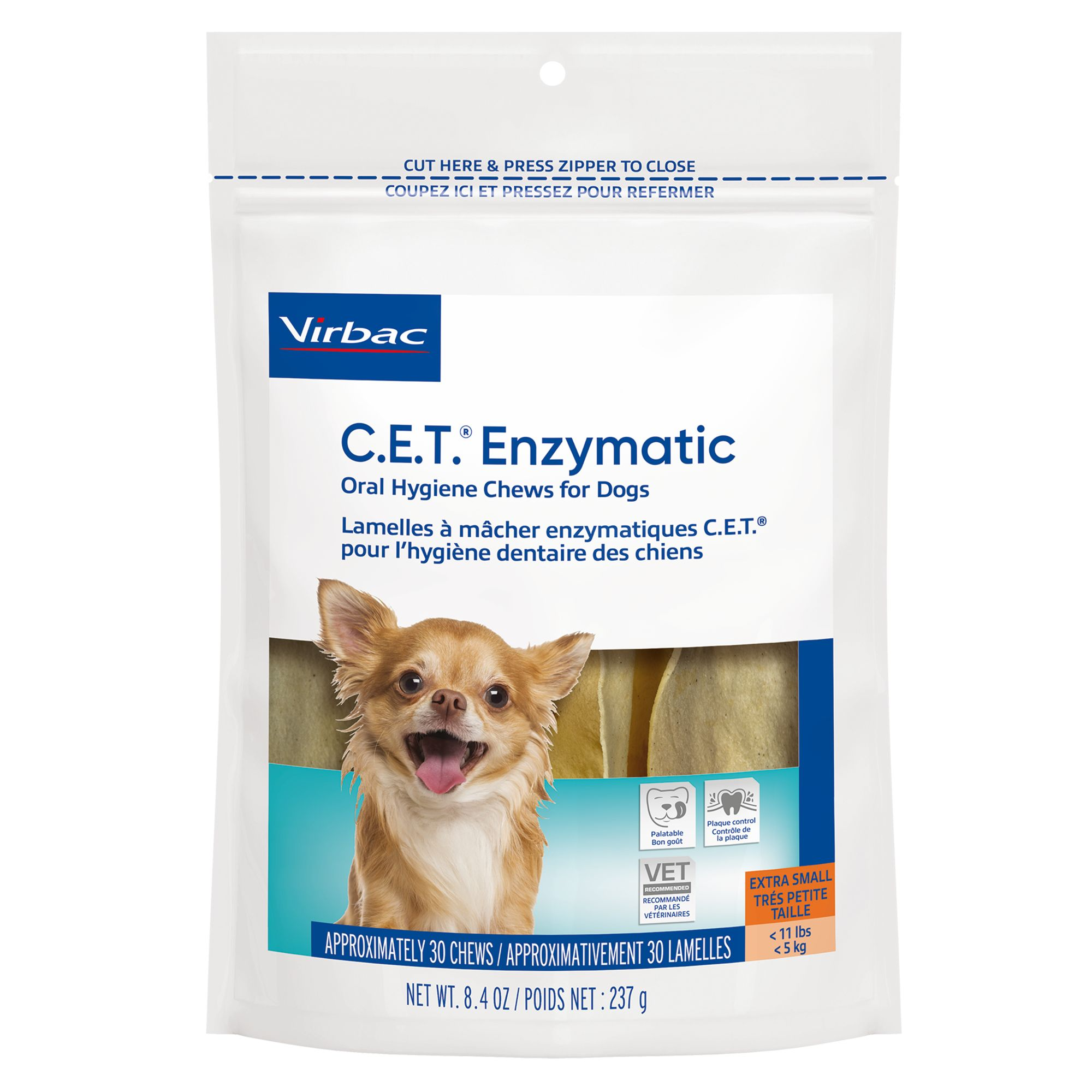 Virbac C.e.t Home Dental Care Dog Chews Size Petite
