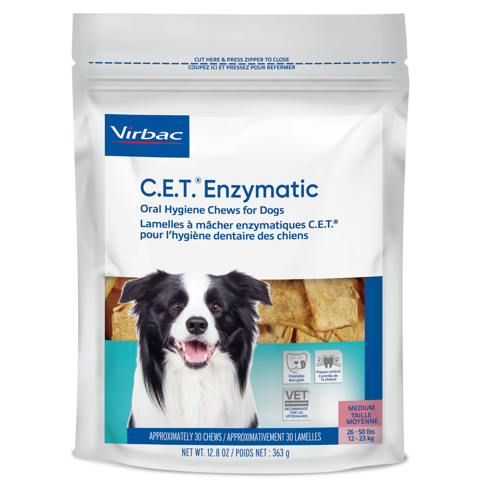 Virbac C.e.t Home Dental Care Dog Chews Size Large