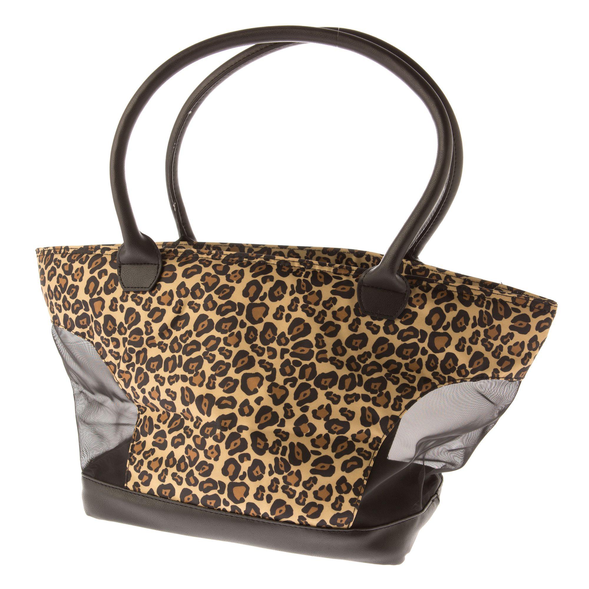 Top Paw® Fashion Dog Tote, Cheetah 5255718