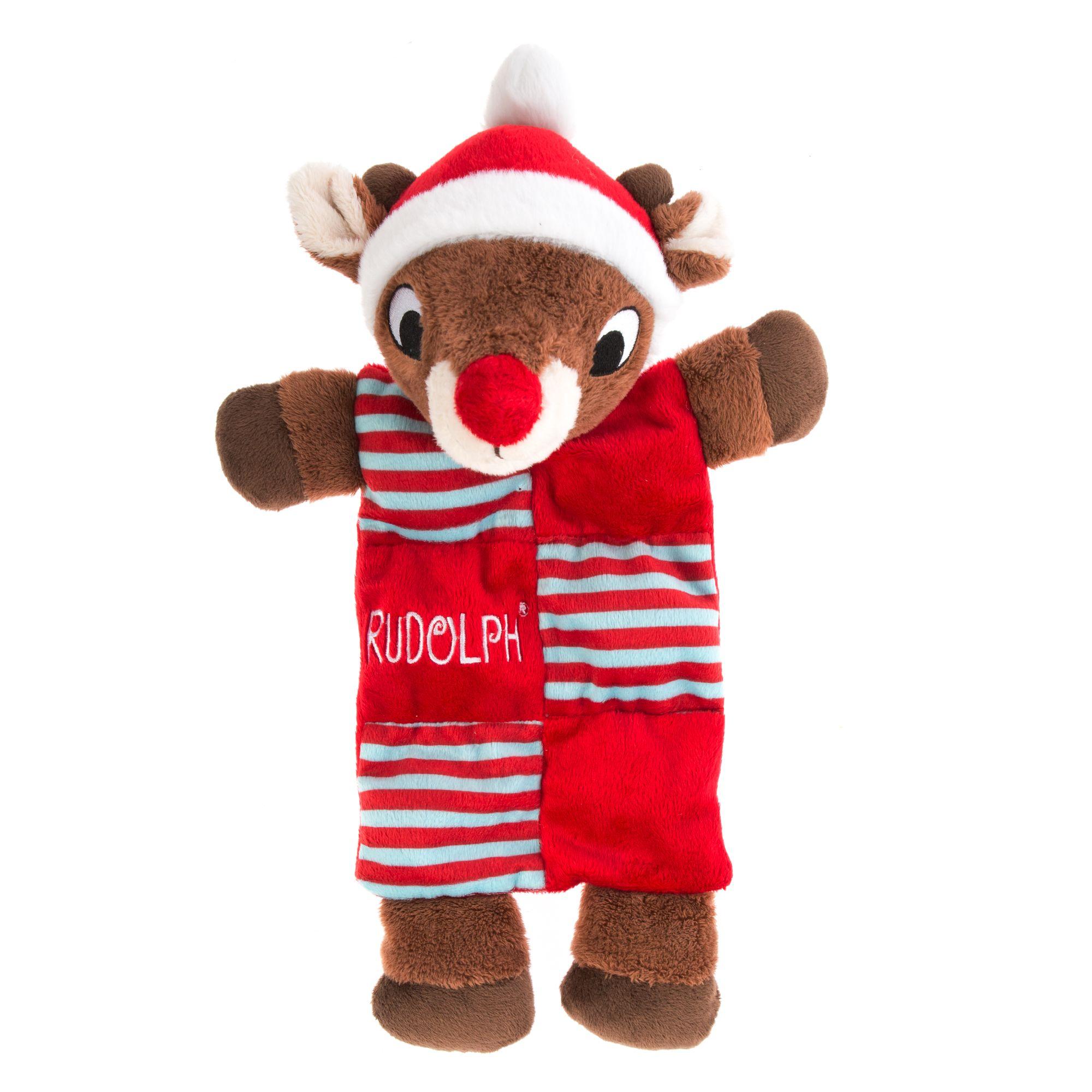 Pet Holiday, Rudolph Mat Dog Toy 5255908
