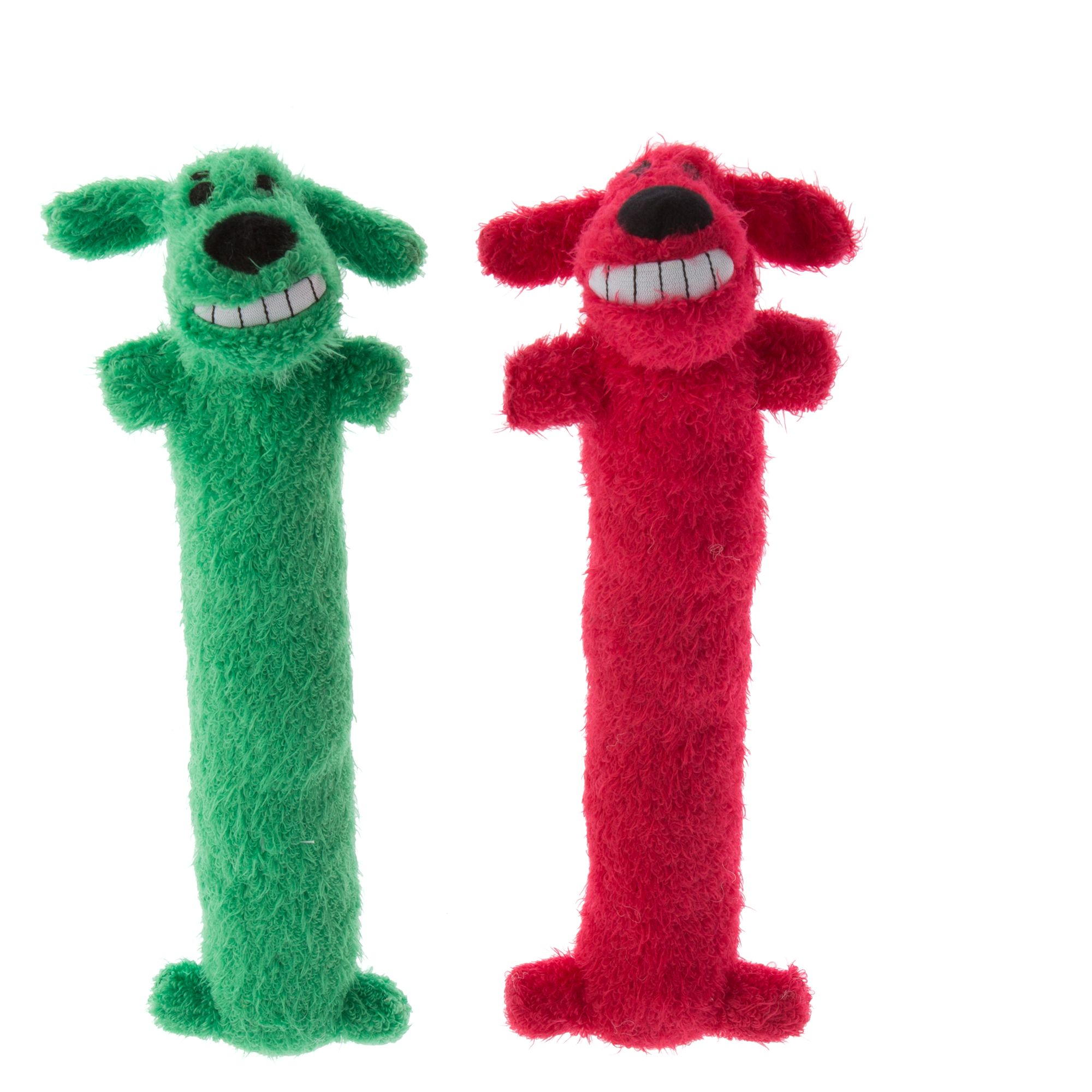 Pet Holiday Bobo Traditional 2 Pack Long Dog Toy Size Medium