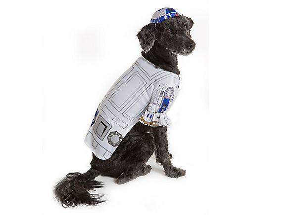 Star Wars, Pet Halloween R2D2 Pet Costume Small
