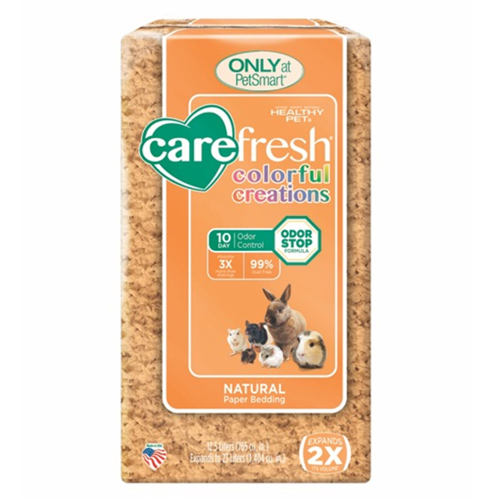 Carefresh Colorful Creations Small Pet Bedding Size 23 L