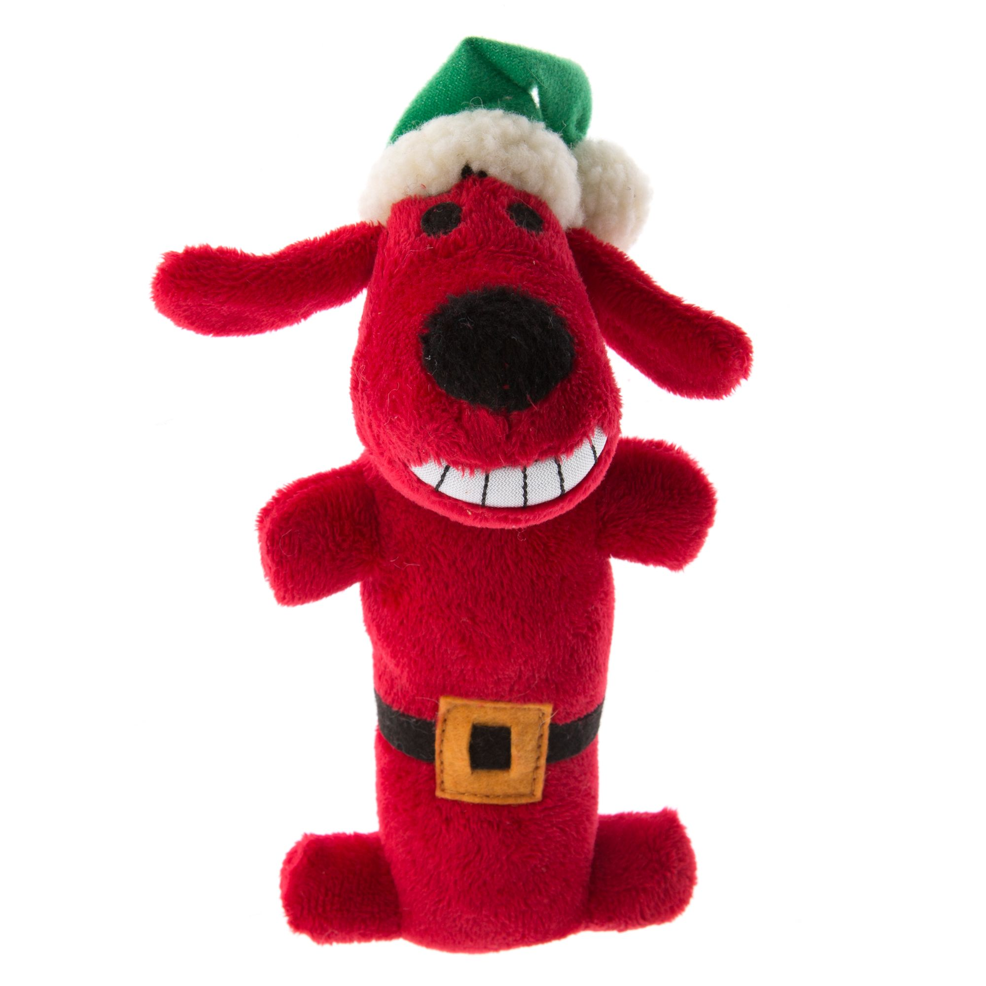 Pet Holiday Bobo Santa Dog Toy