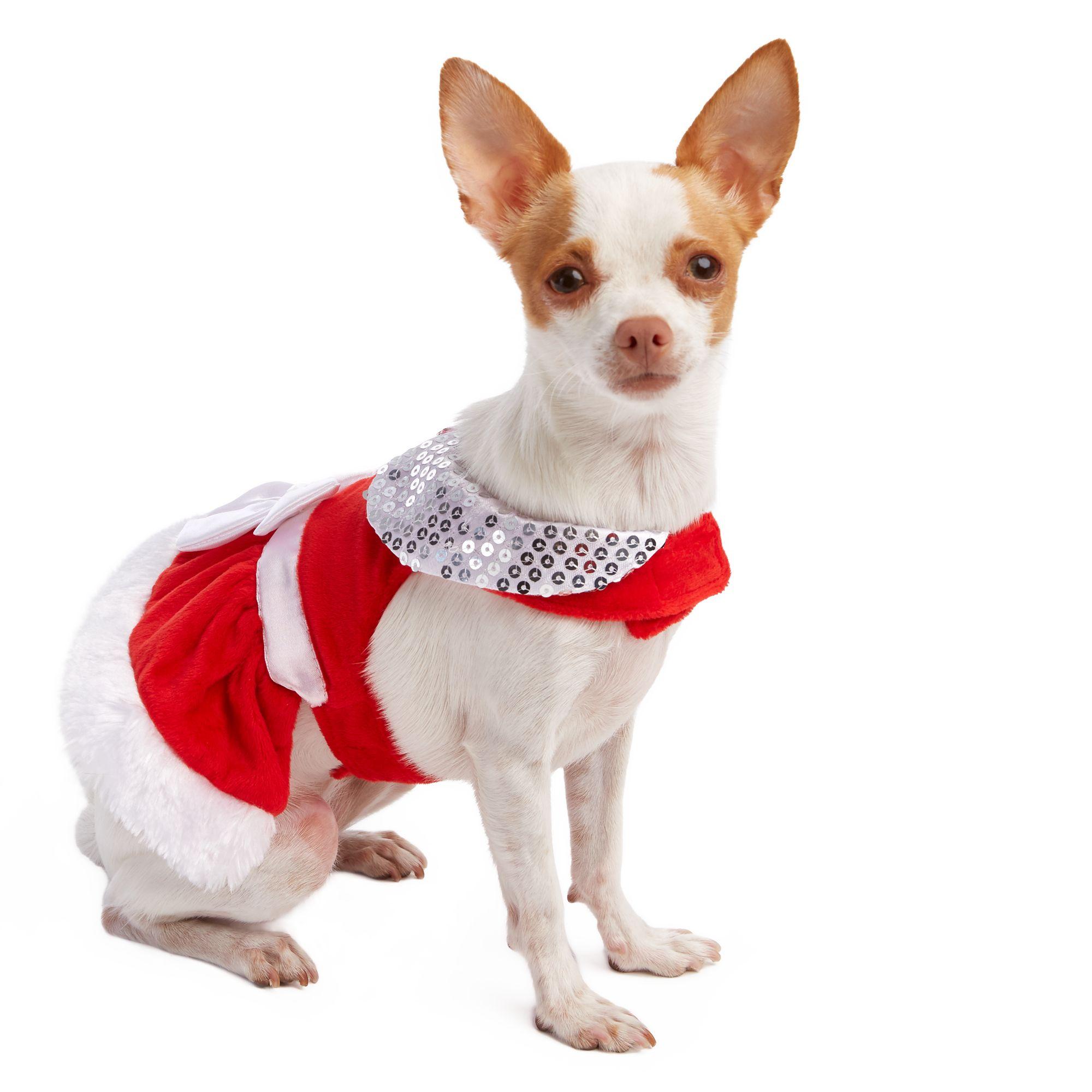 Pet Holiday Mrs Claus Dog Costume Size Medium
