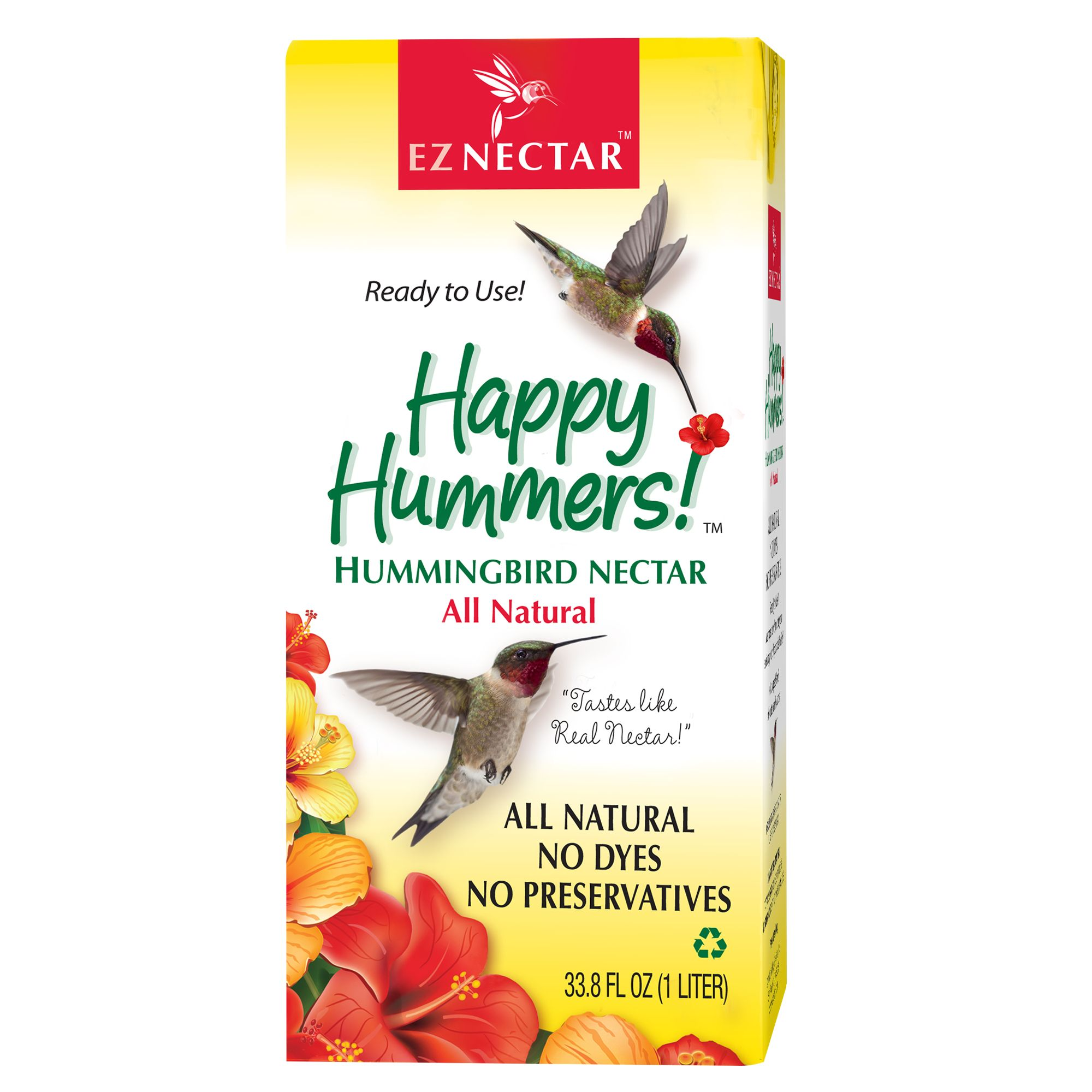 Happy Hen Ez Nectar All Natural Hummingbird Nectar Size 2.2 Lb Happy Hen Treats