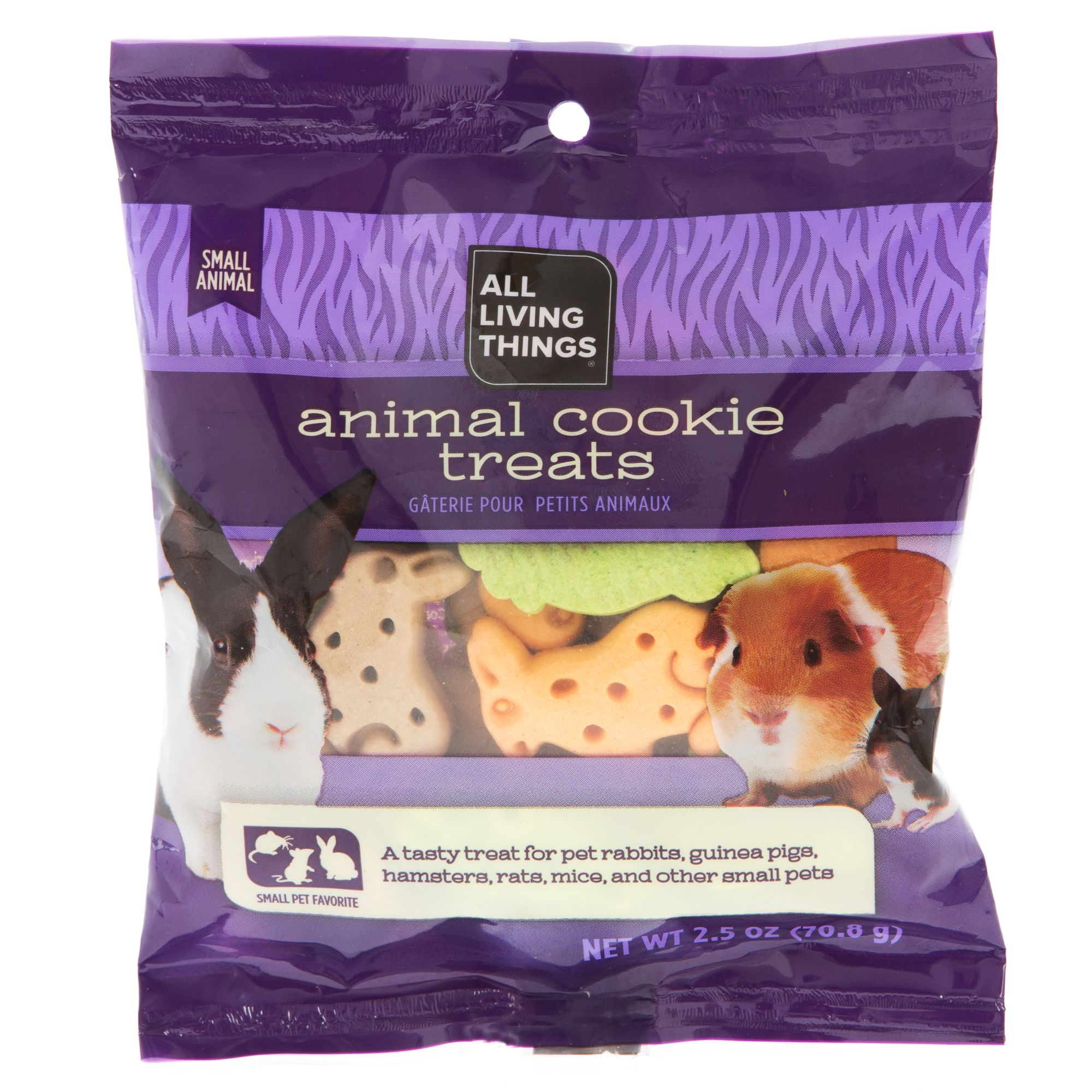 All Living Things Animal Cookie Treats Size 2.5 Oz