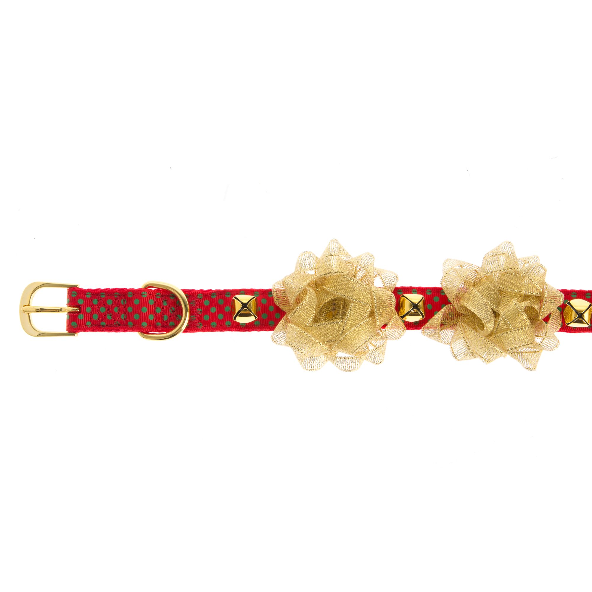 Pet Holiday, Gift Bow Dog Collar size: Large 5258143