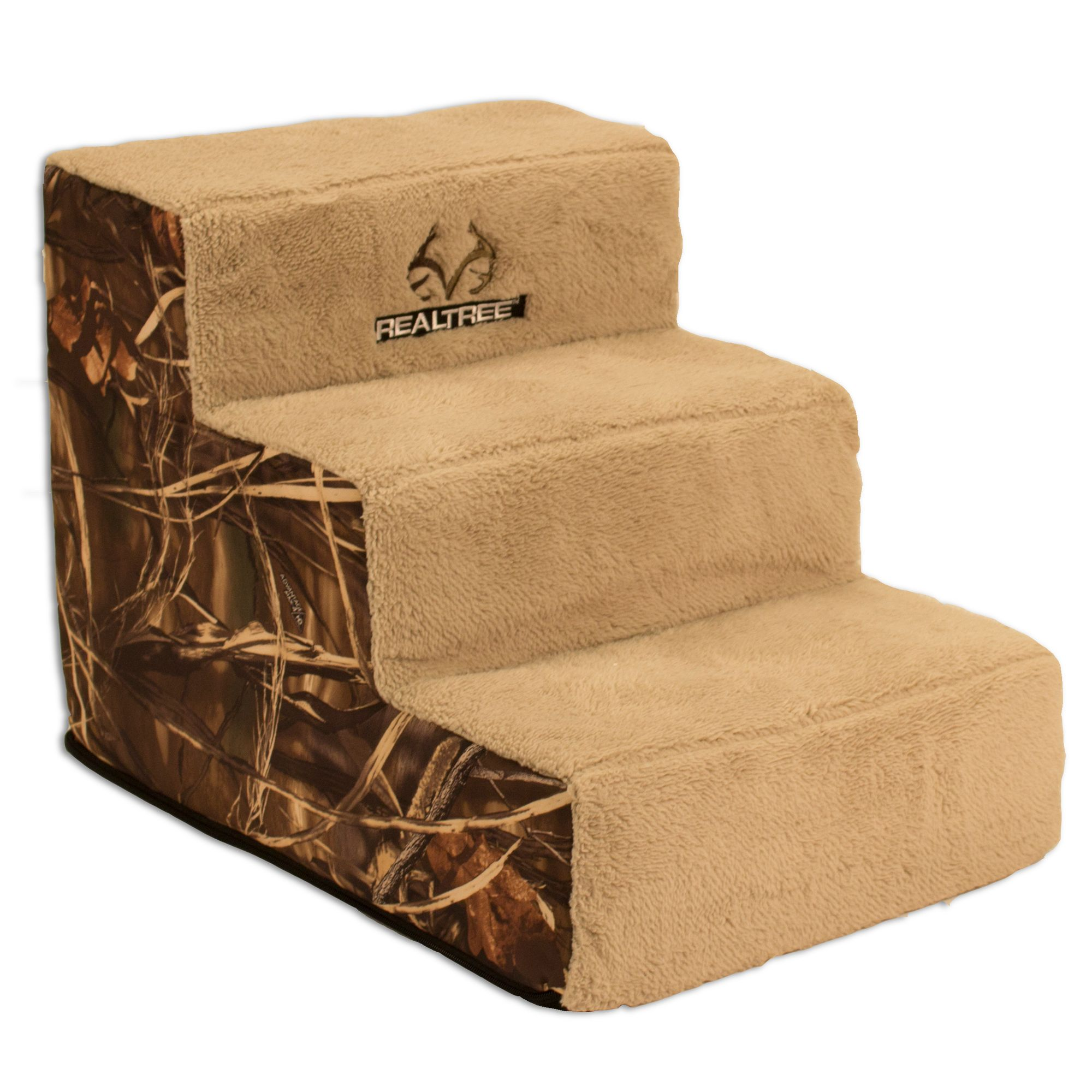 Realtree Camp 3 Step Pet Stairs