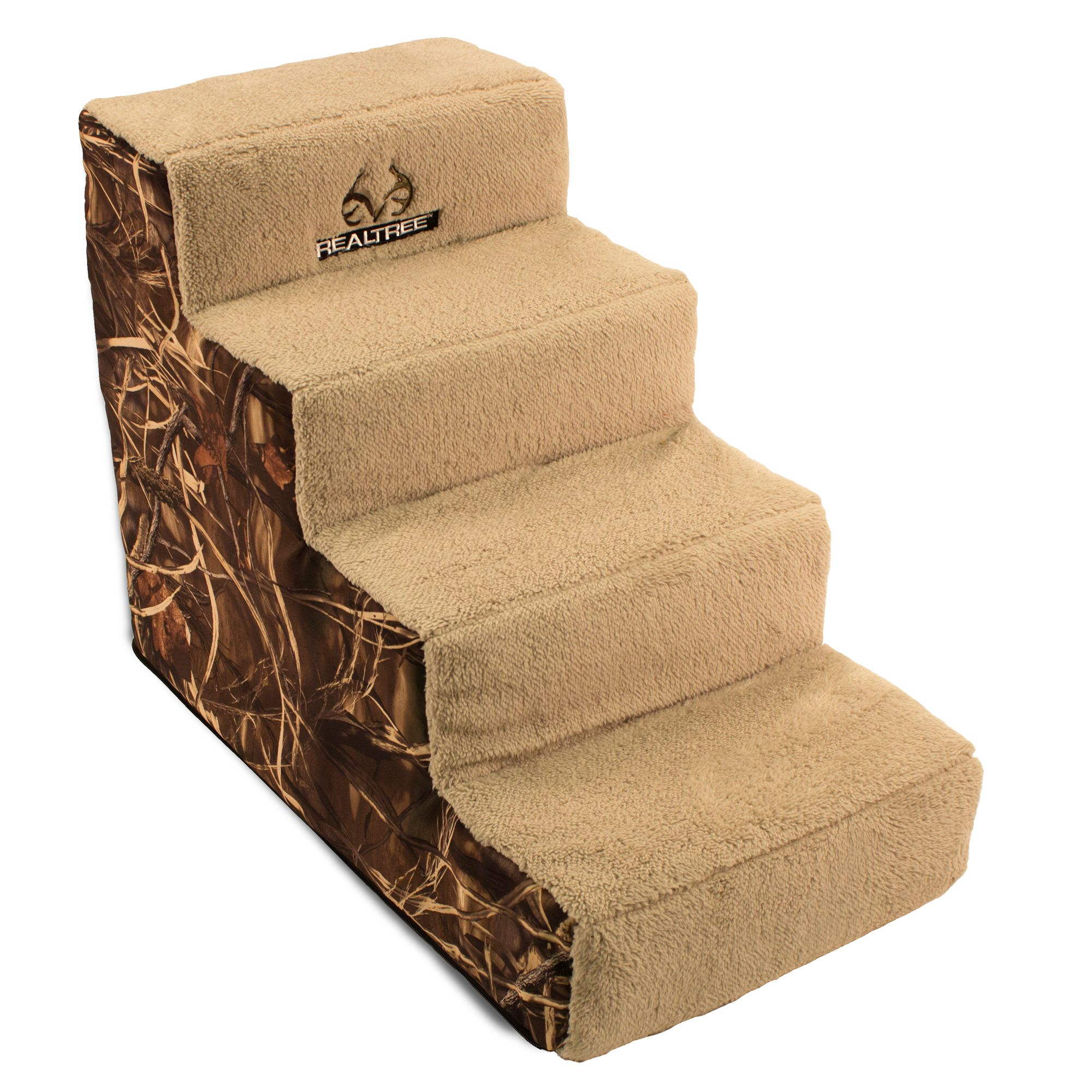 Realtree Camo 4 Step Pet Stairs