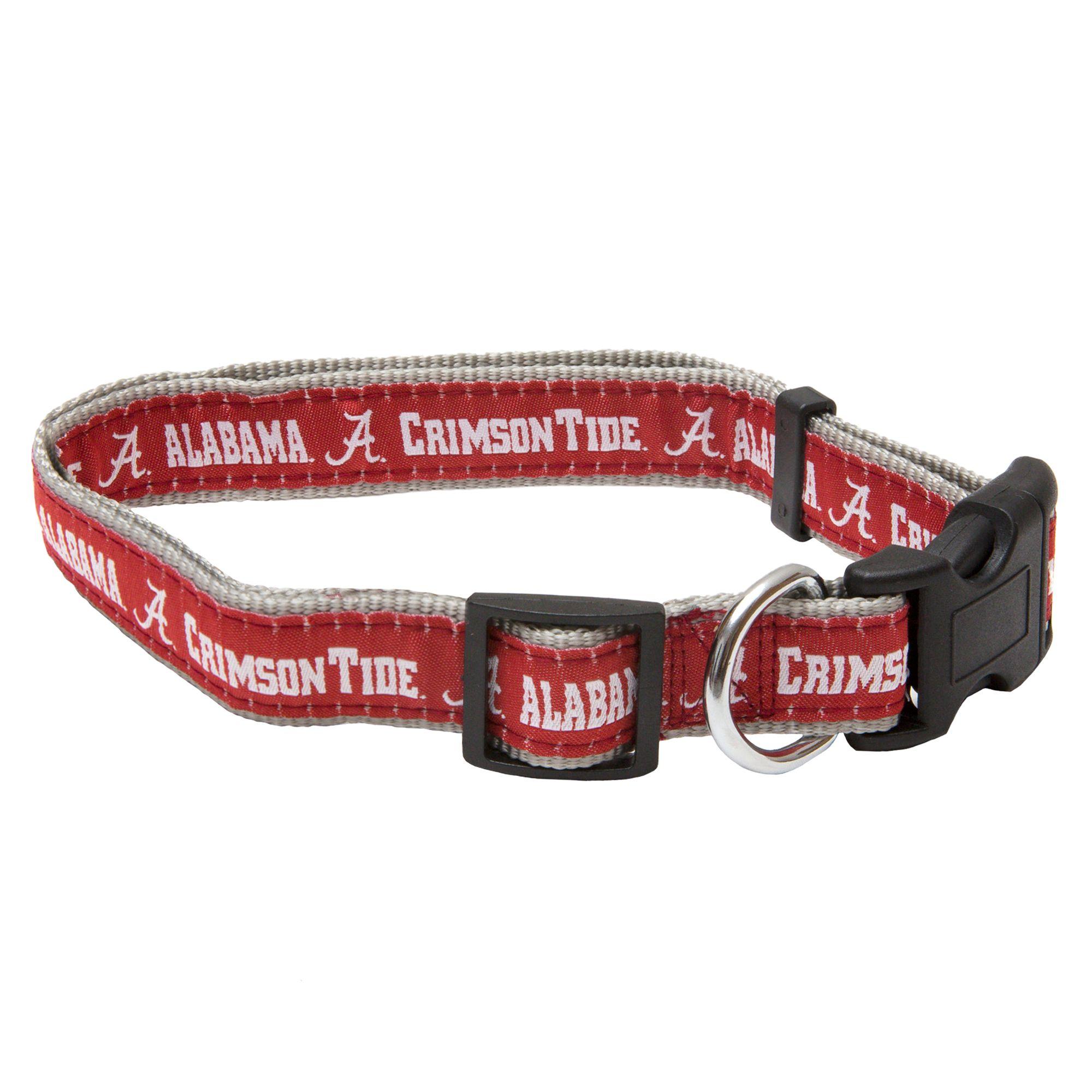 Alabama Crimson Tide Ncaa Dog Collar Size Medium Pets First