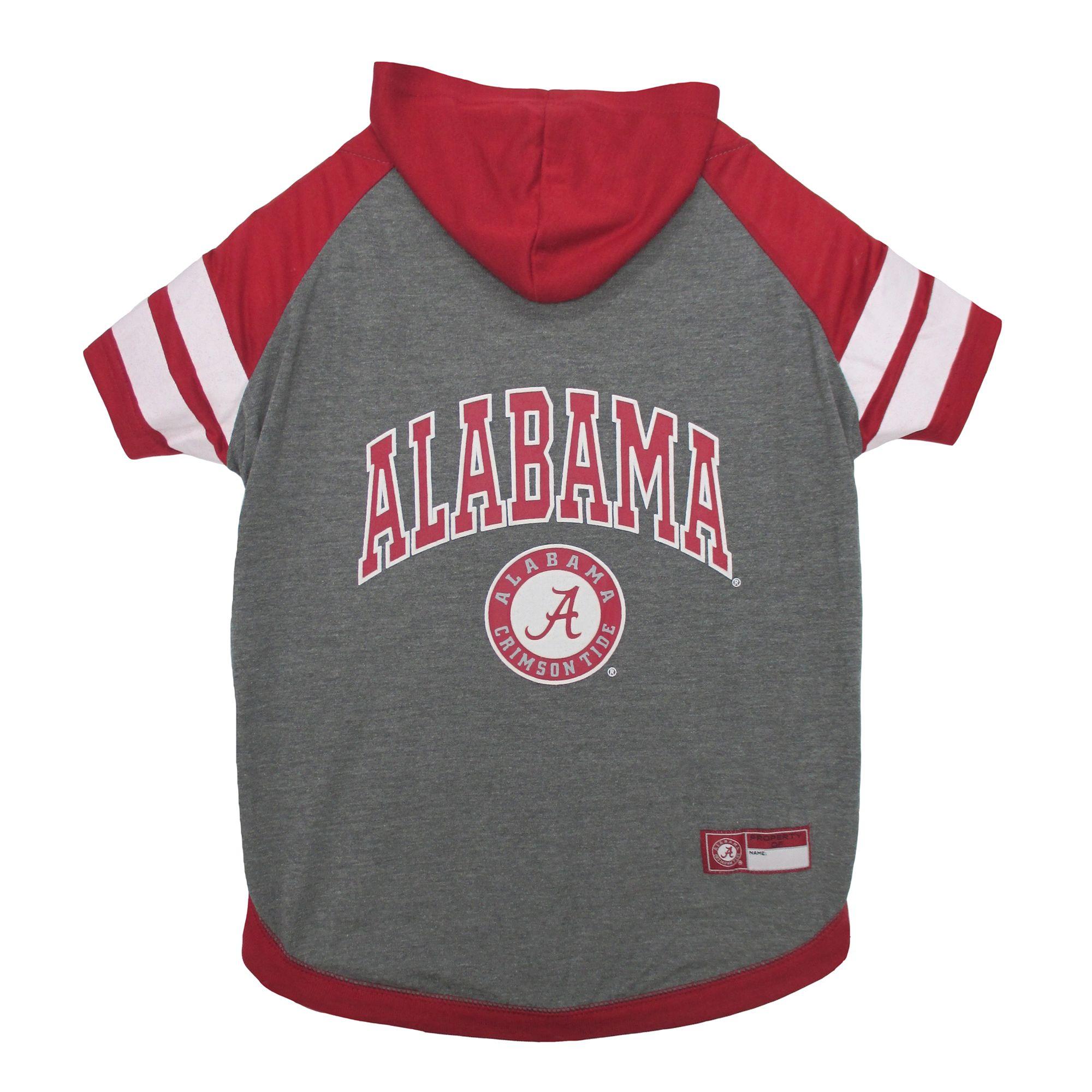 Alabama Crimson Tide Ncaa Hoodie T Shirt Size X Small Pets First