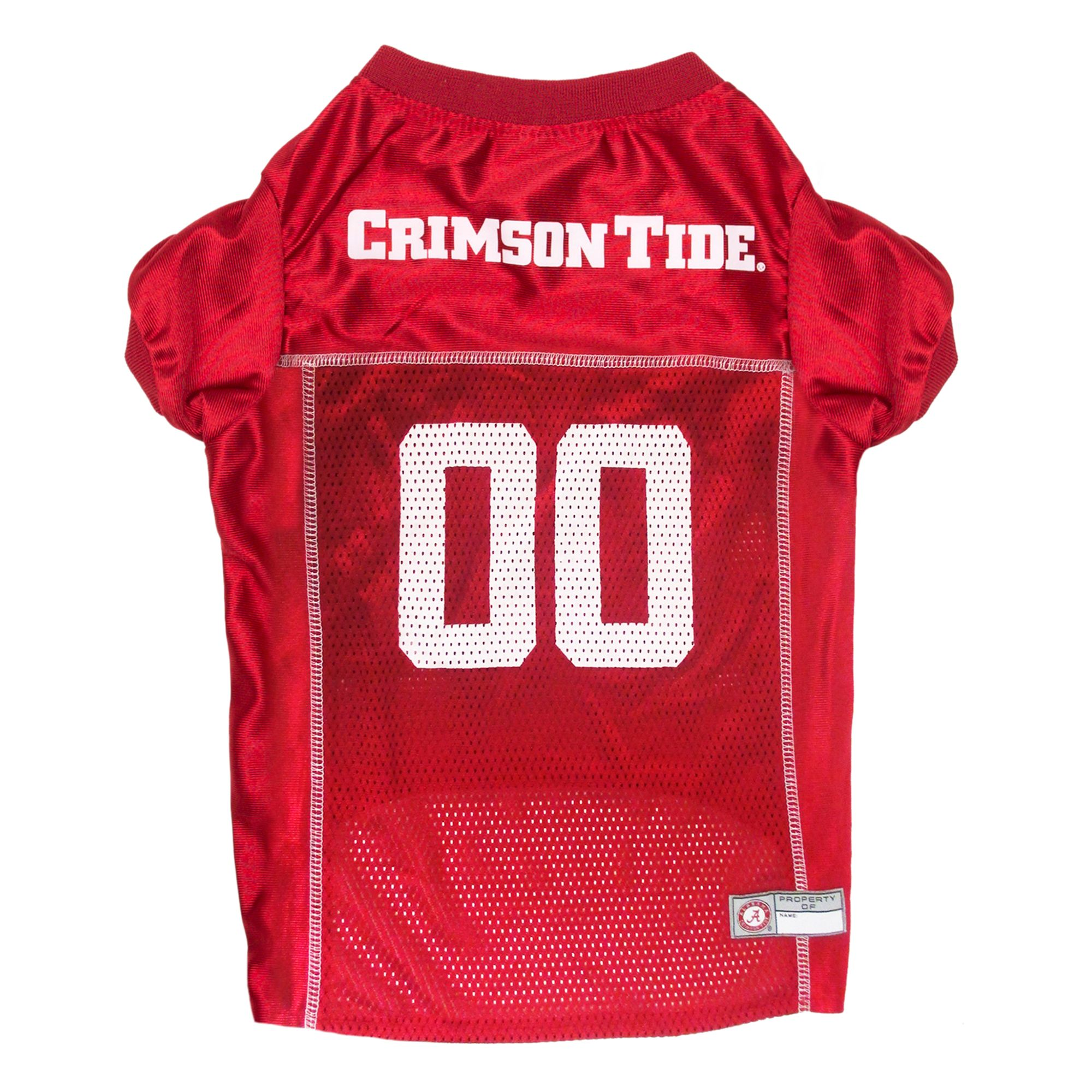 Alabama University Crimson Tide Ncaa Mesh Jersey size: X Large, Pets First 5259258
