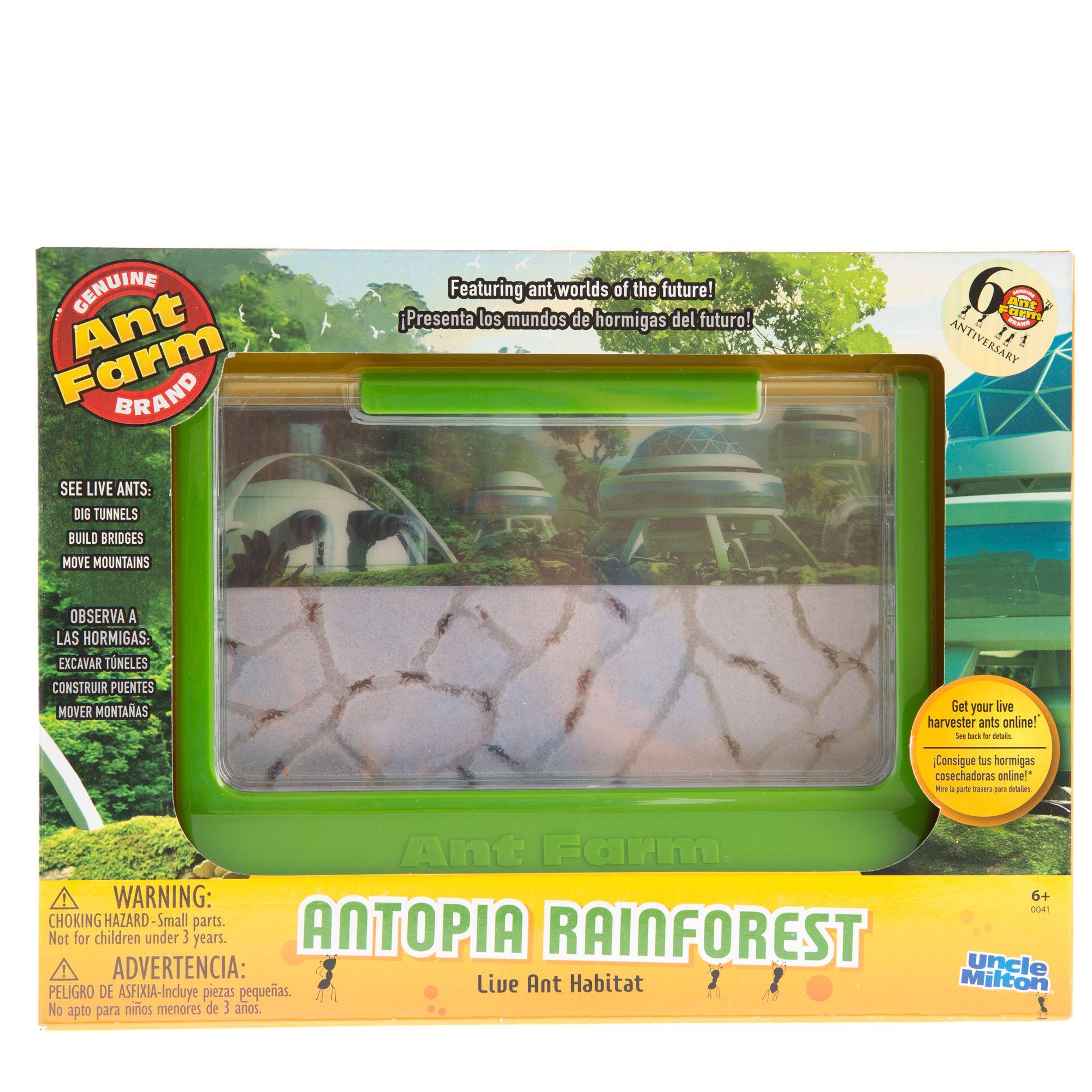 Uncle Miltons Antopia Rainforest Habitat Green