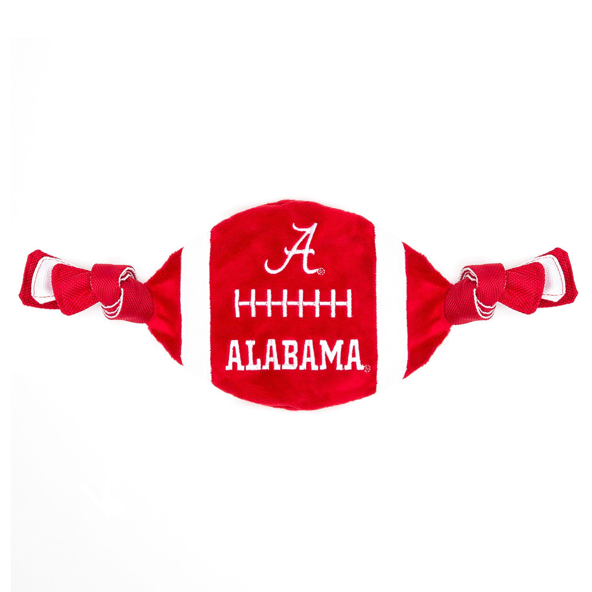 Alabama Crimson Tide Ncaa Flattie Crinkle Football Toy Pets First