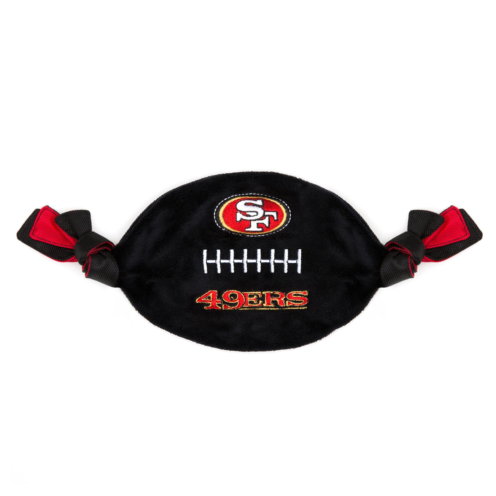 San Francisco 49ers NFL Flattie Crinkle Football Toy 5259767