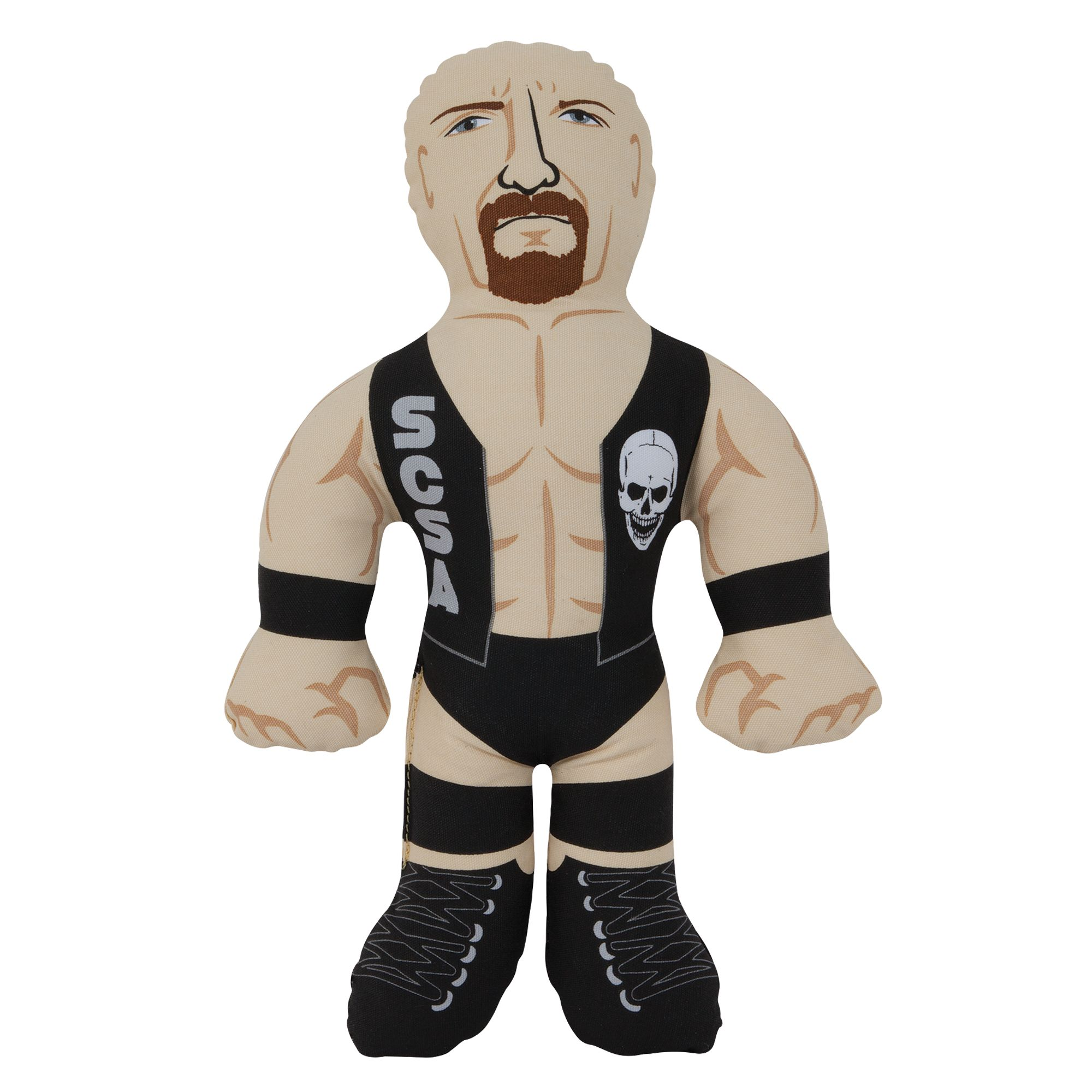 WWE Steve Austin Plush Dog Toy 5259977