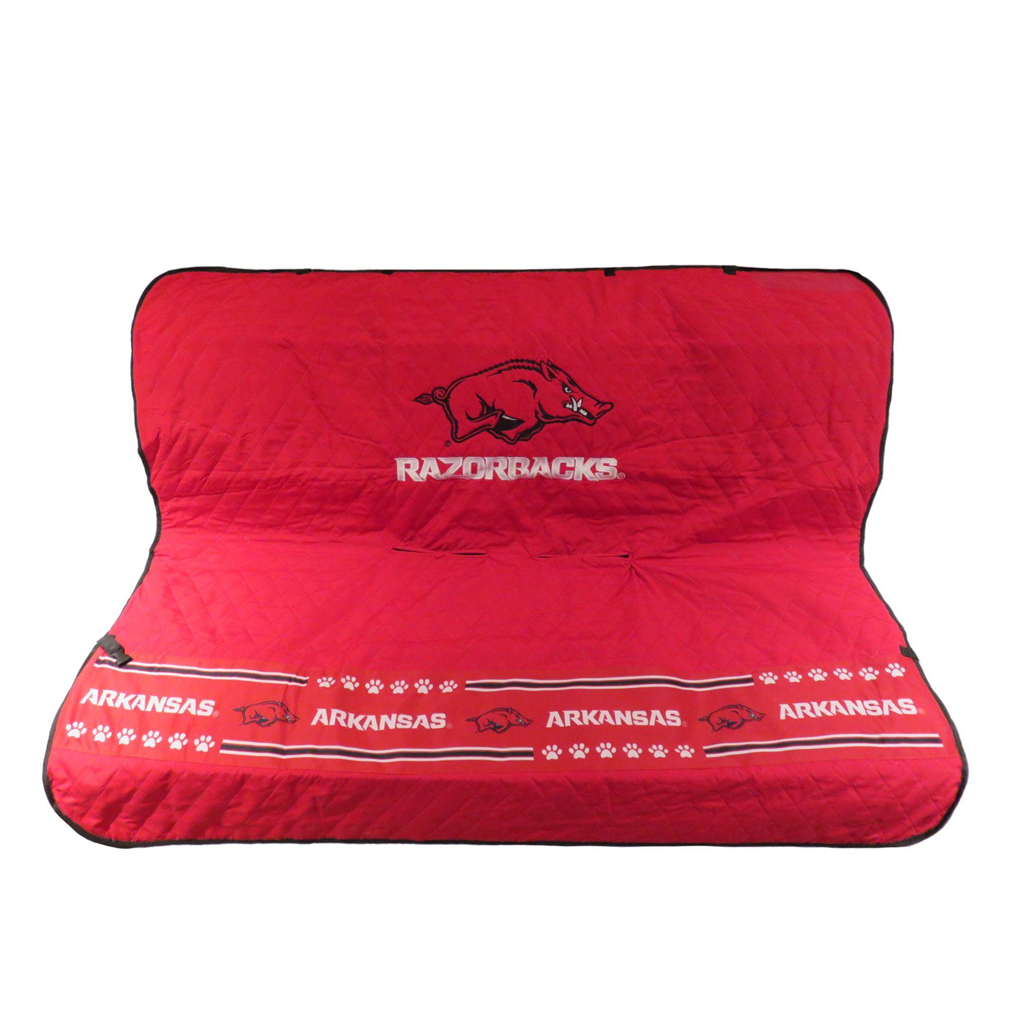 Arkansas Razorbacks Ncca Car Seat Cover Size 55w X 50l Pets First