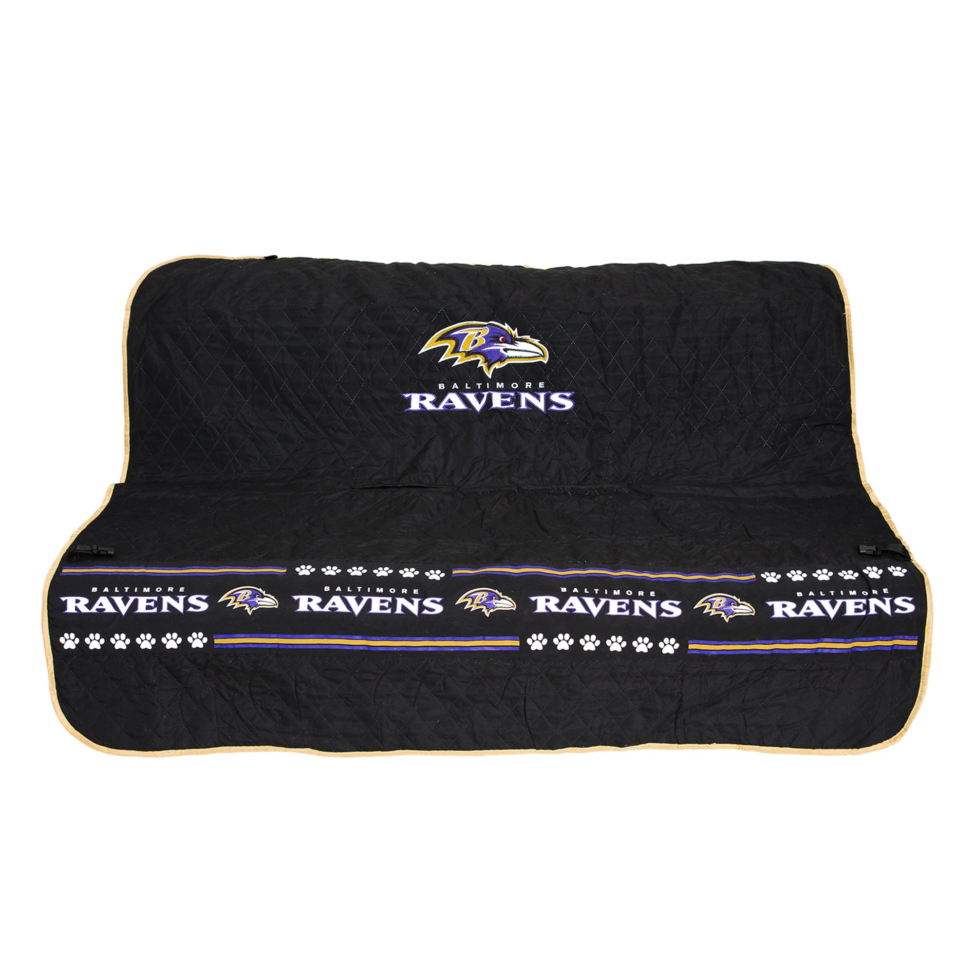 Baltimore Ravens Nfl Car Seat Cover Size 55w X 50l Pets First
