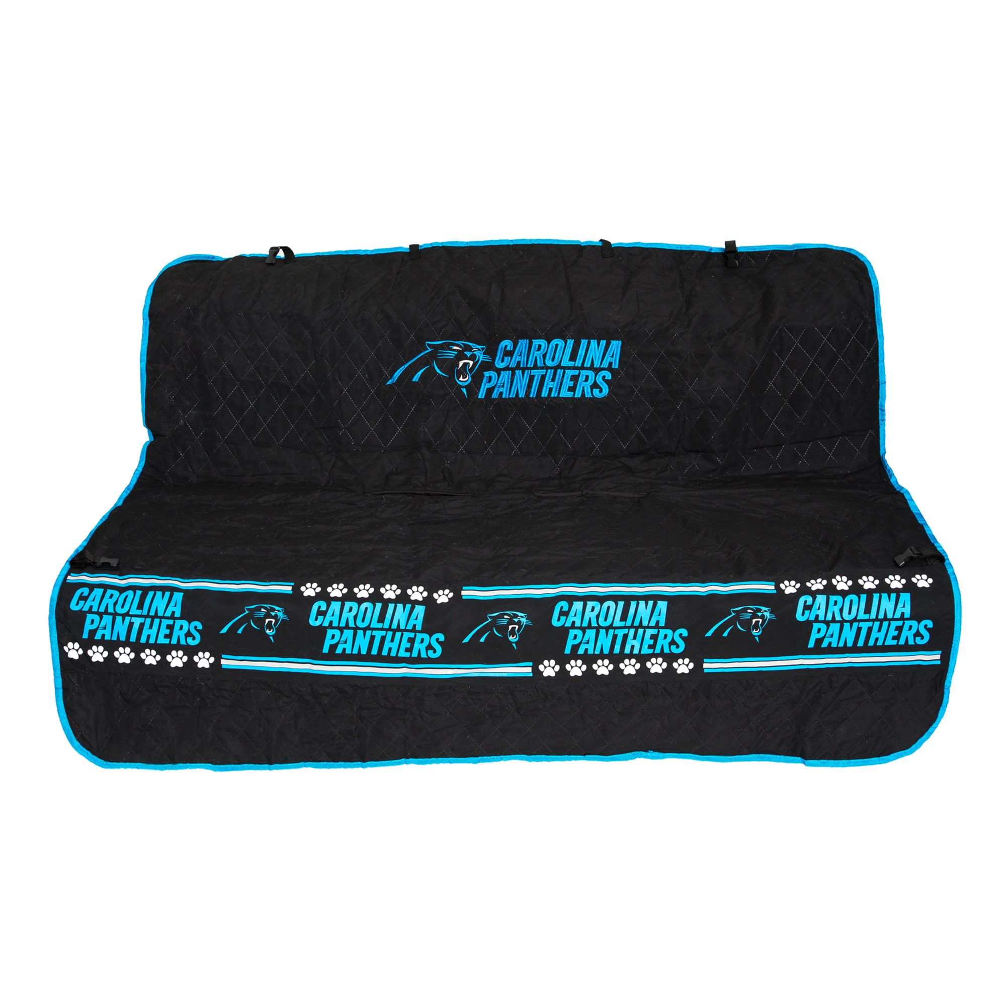 Carolina Panthers Nfl Car Seat Cover Size 55w X 50l Pets First