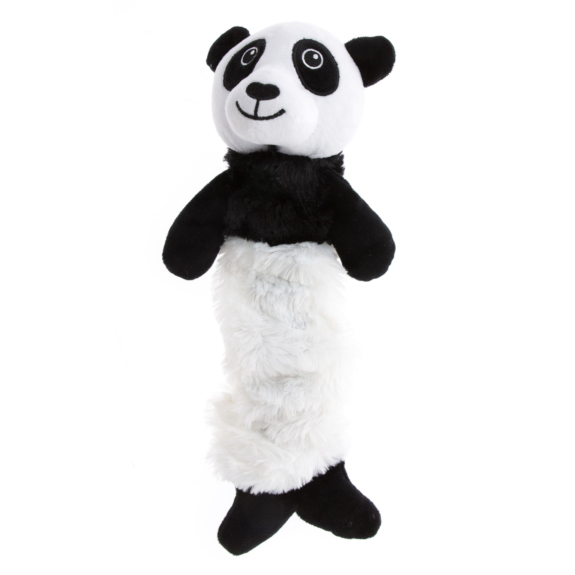 Grreat Choice Bungee Panda Plush Dog Toy