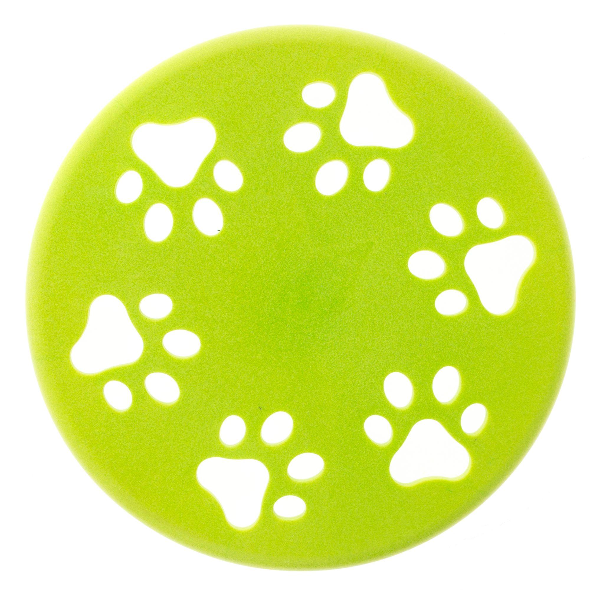 Grreat Choice Paw Flyer Dog Toy, Green 5260728