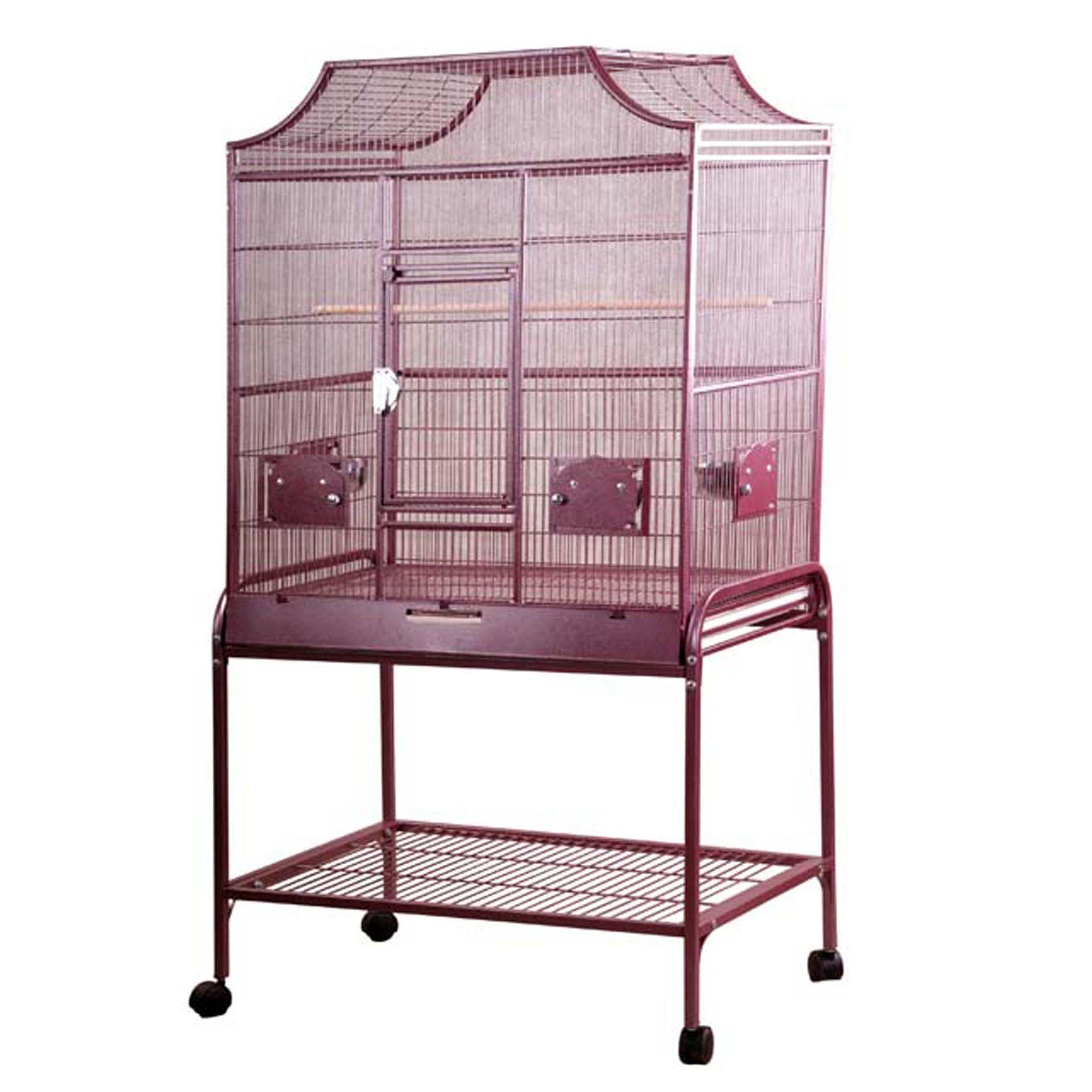 Aande Cage Company Elegant Flight Bird Cage Red A E