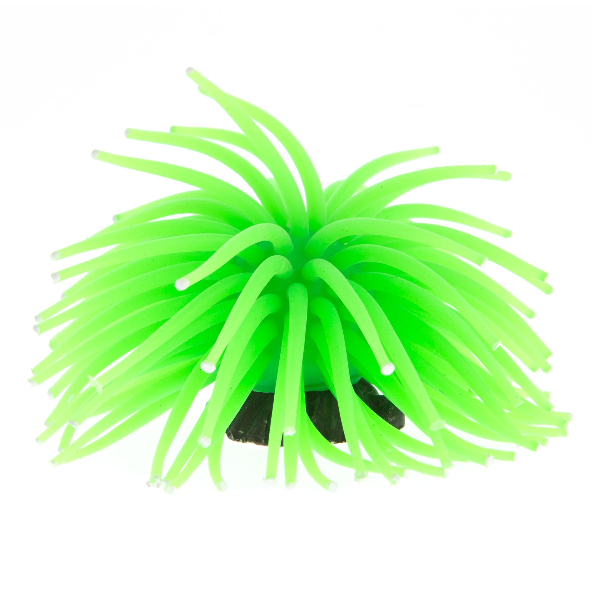 Glofish Green Anemone Aquarium Ornament