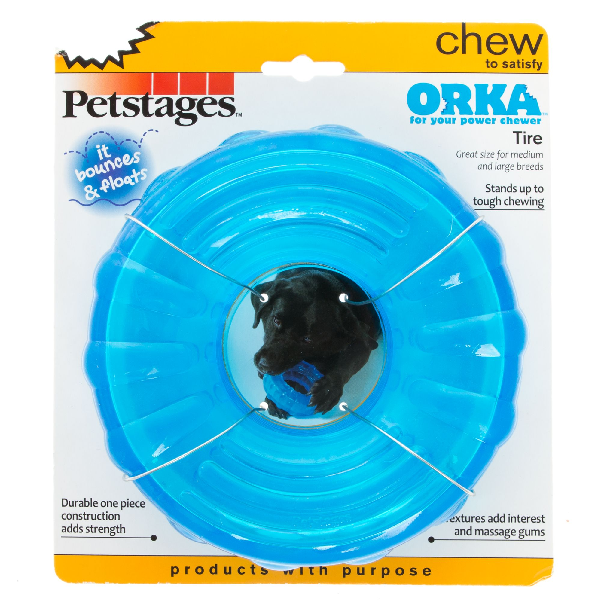 Petstages Orka, Tire Dog Toy