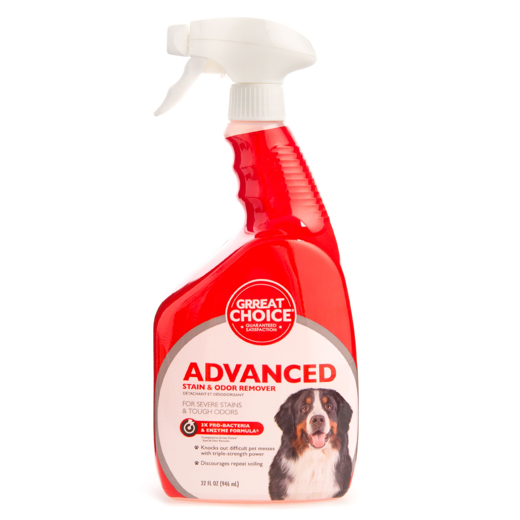 Grreat Choice Advanced Stain And Odor Remover Size 32 Fl Oz
