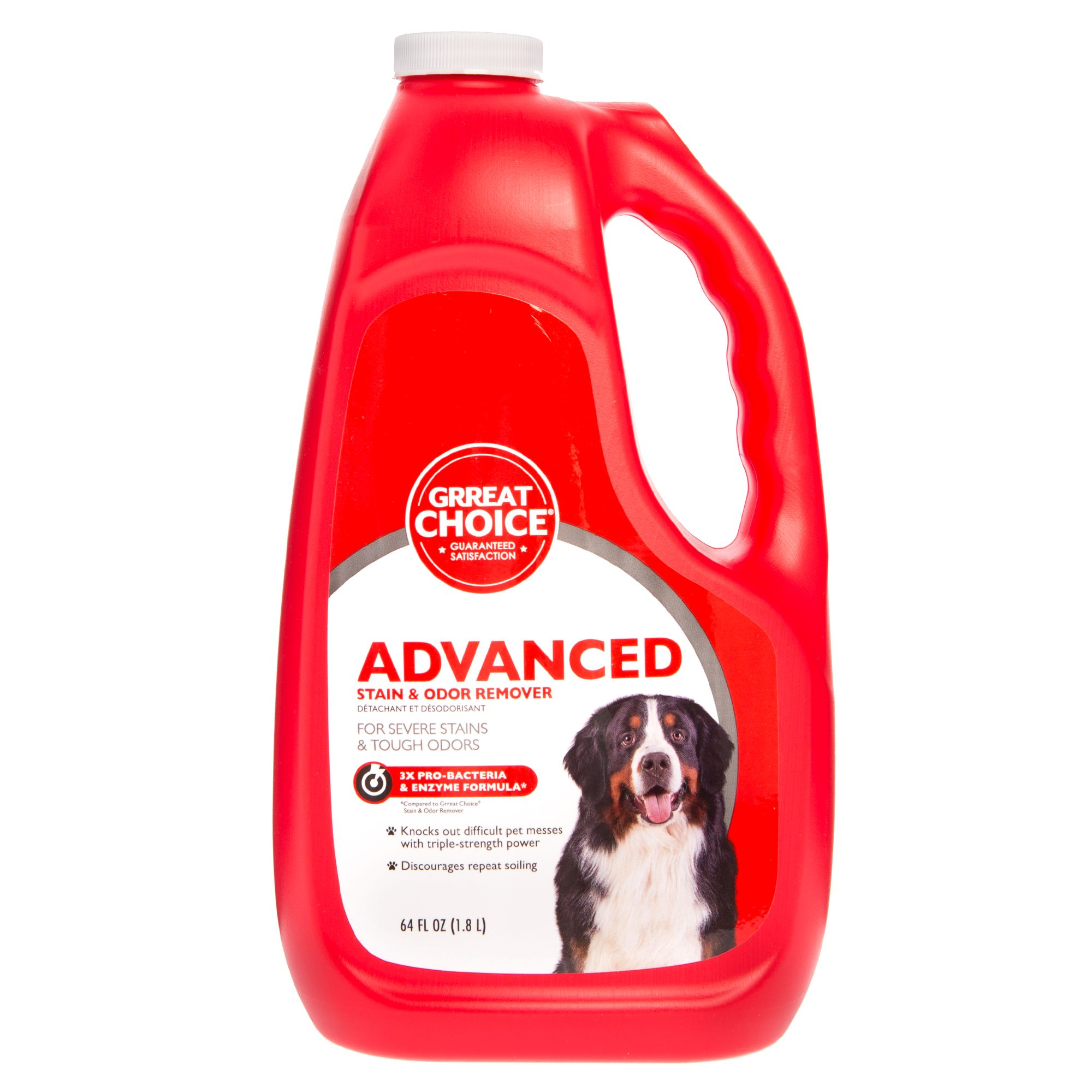 Grreat Choice Advanced Stain And Odor Remover Size 64 Fl Oz