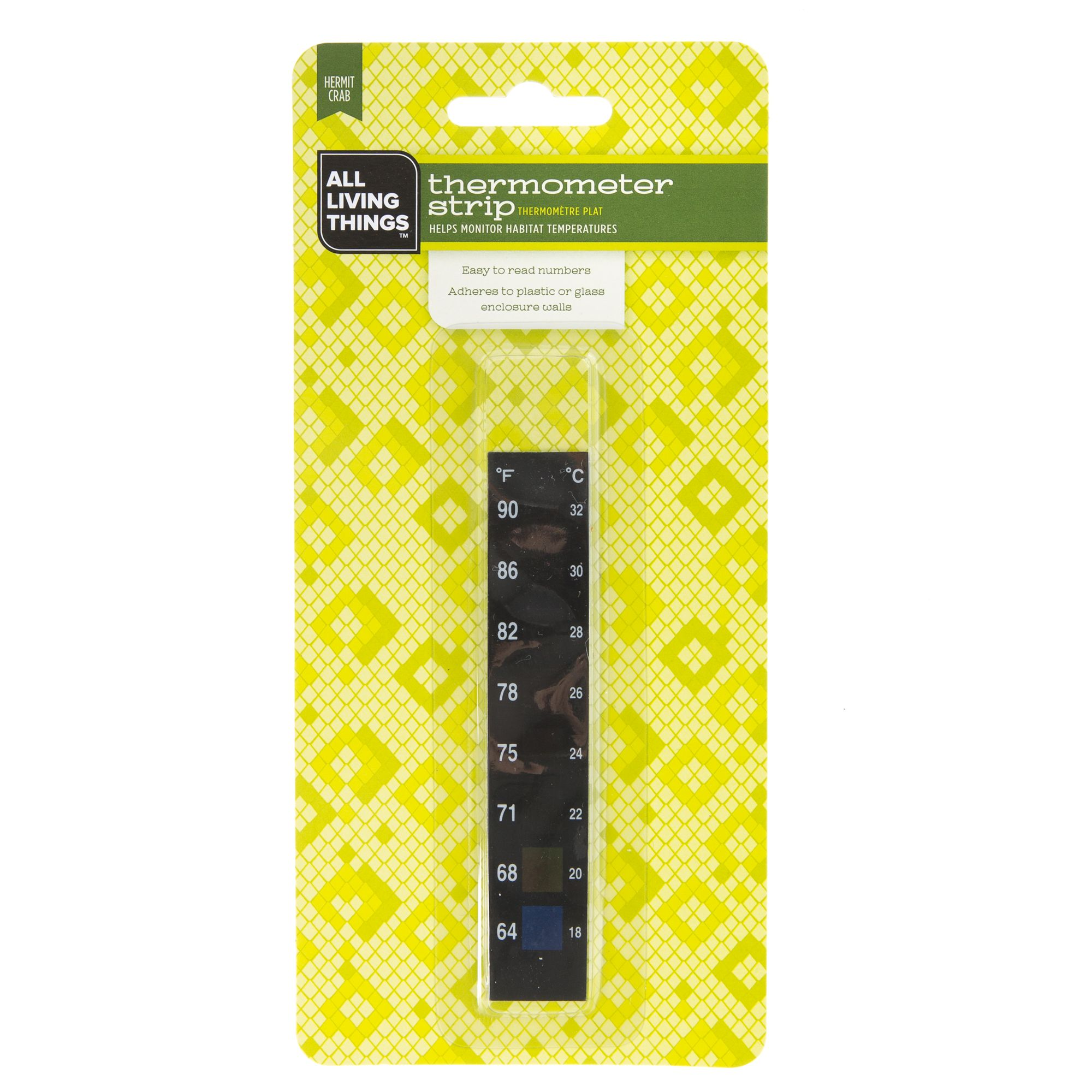 All Living Things Thermometer Strip Size One Size