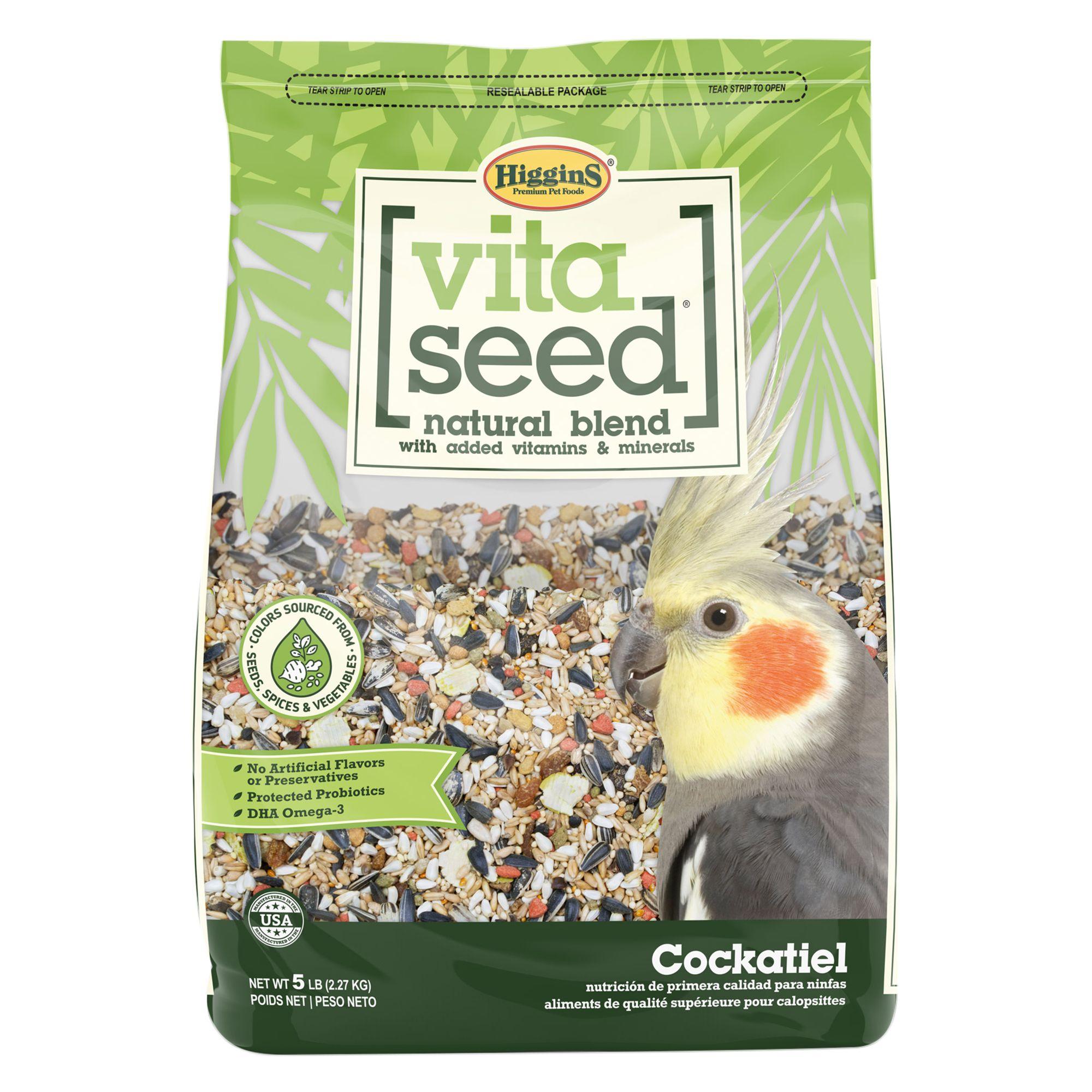 Higgins Vita Seed Cockatiel Food size: 5 Lb 5262916