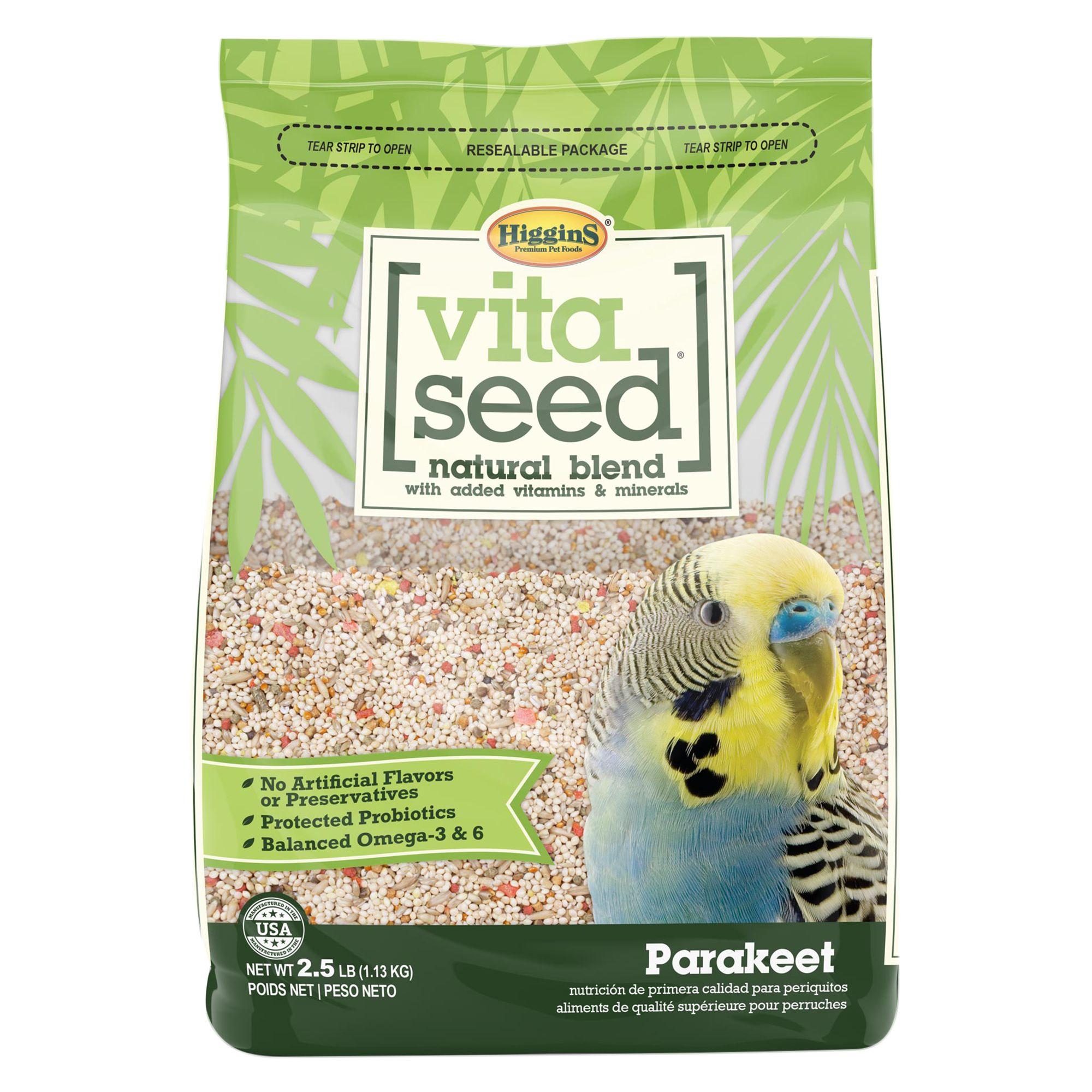 Higgins Vita Seed Parakeet Food size: 5 Lb 5262918