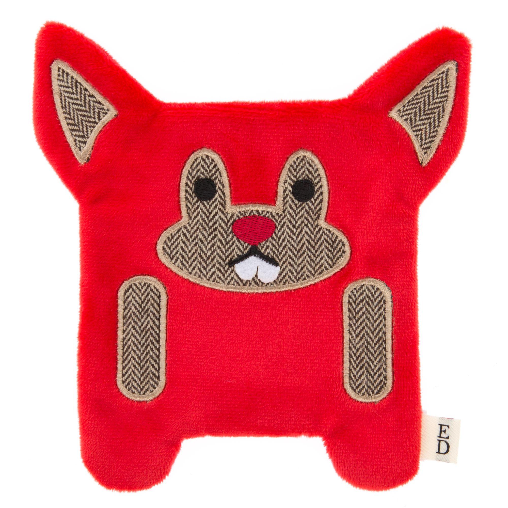 ED Ellen DeGeneres Flattie Beaver Dog Toy - Crinkle