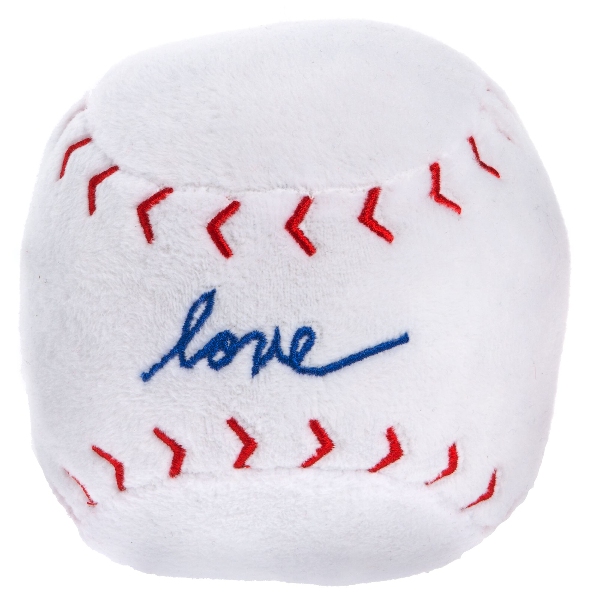 ED Ellen DeGeneres Love Baseball Dog Toy - Plush 5263386