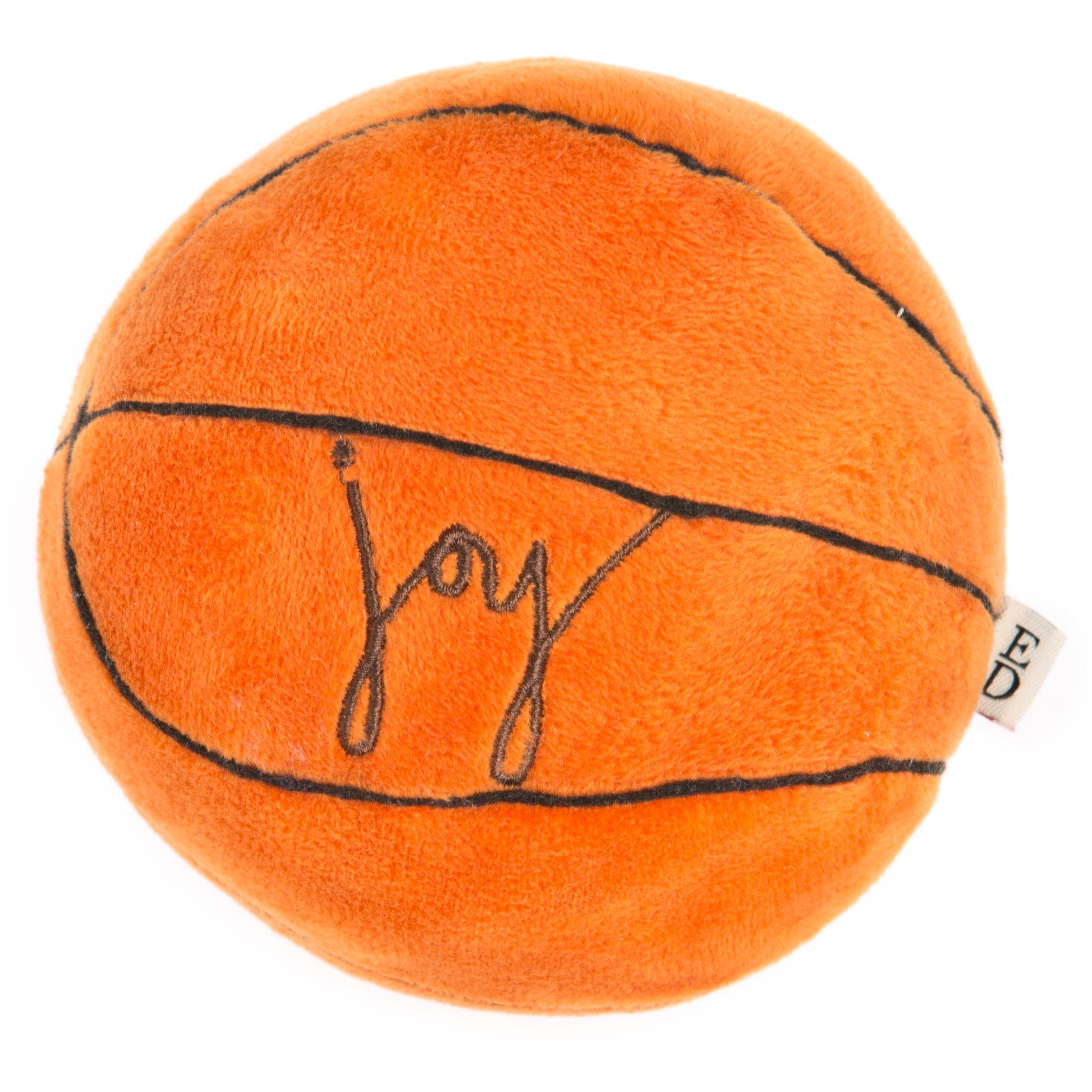 ED Ellen DeGeneres Joy Basketball Dog Toy - Plush 5263388