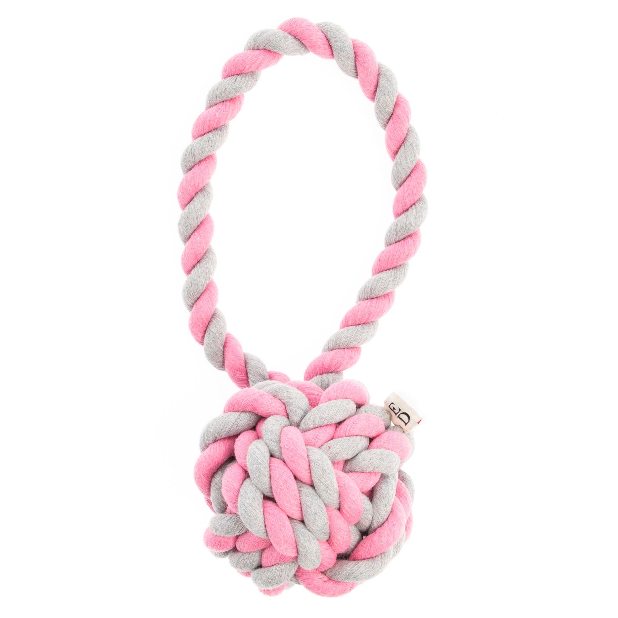 Ed Ellen Degeneres 2 Toned Monkey Rope Dog Toy