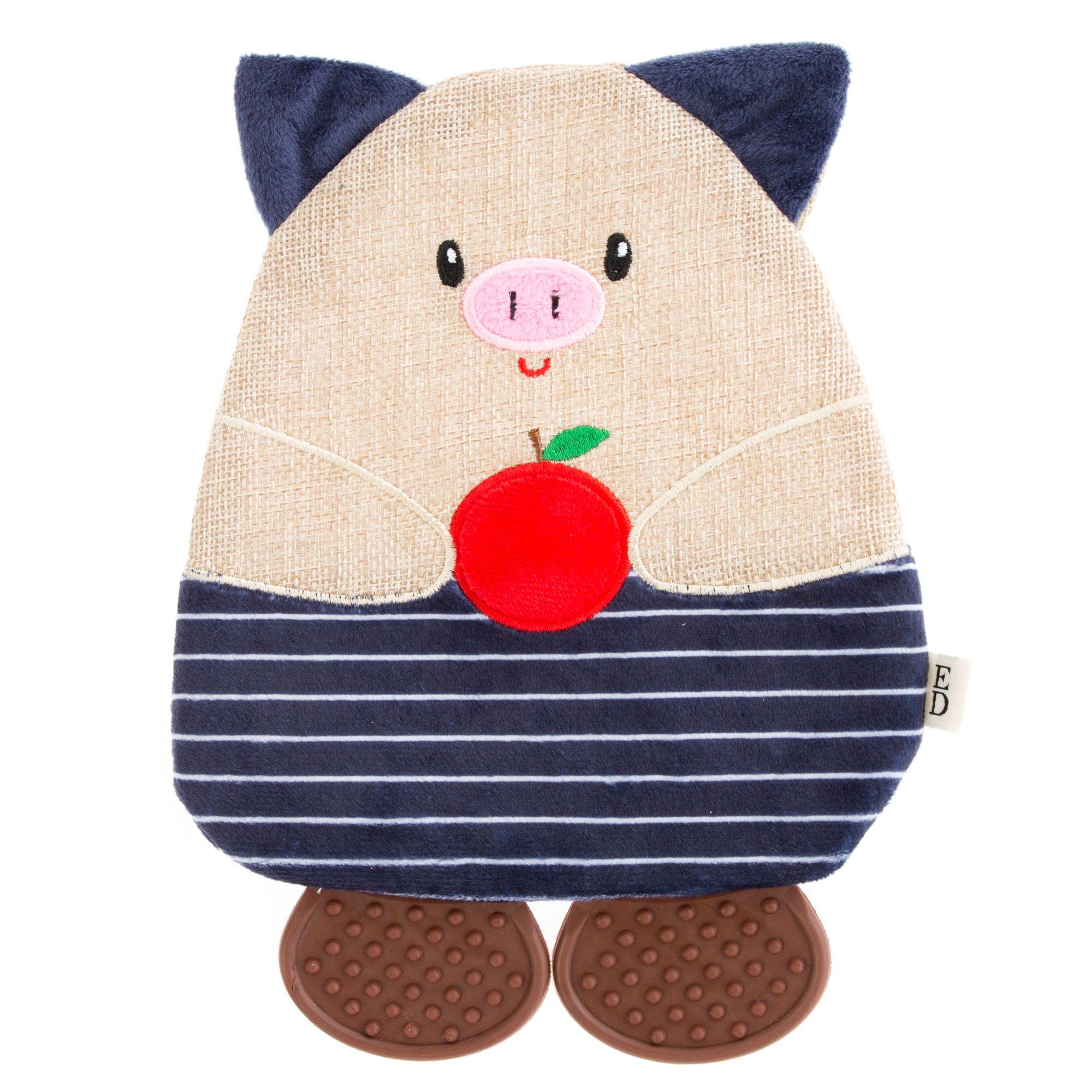 ED Ellen DeGeneres Flattie Pig Dog Toy - Crinkle