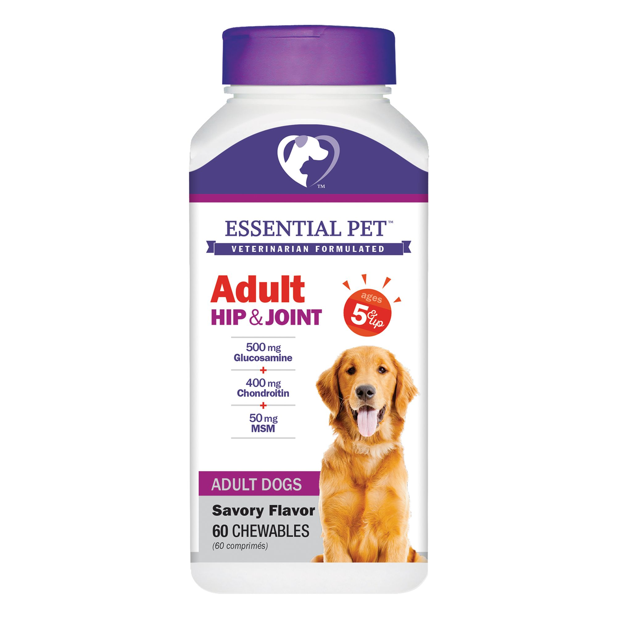 21st Century Adult Hip And Joint Dog Chews Size 5 Count