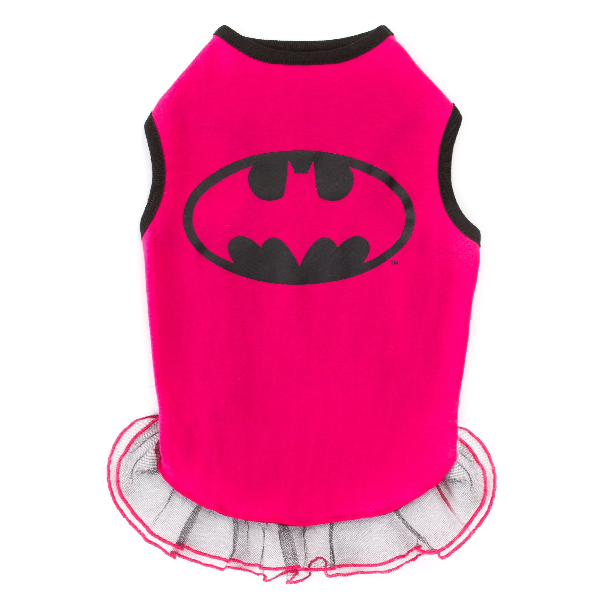 Dc Comics Batgirl Dog Dress Size Small