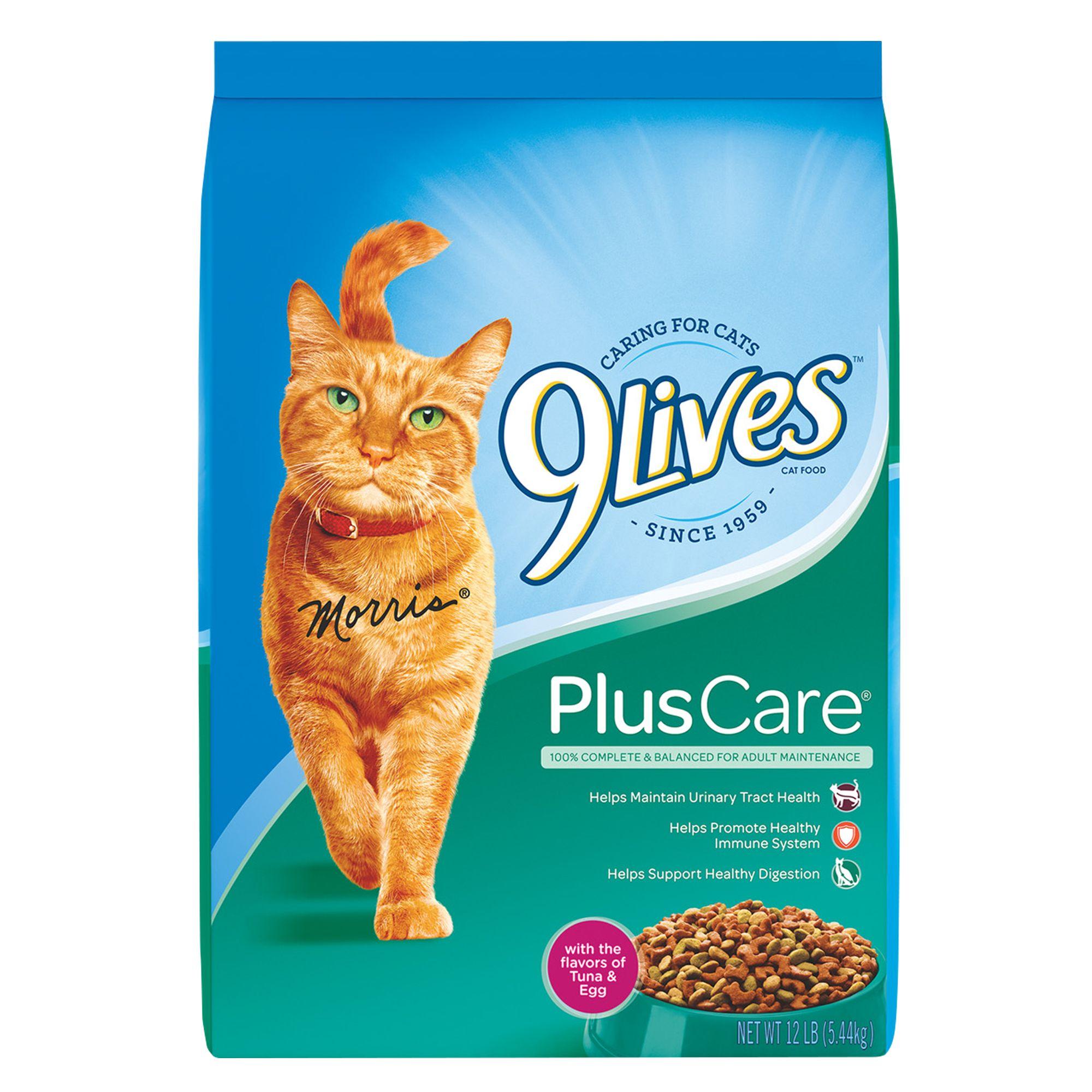 9lives Plus Care Cat Food Tuna And Egg Size 12 Lb