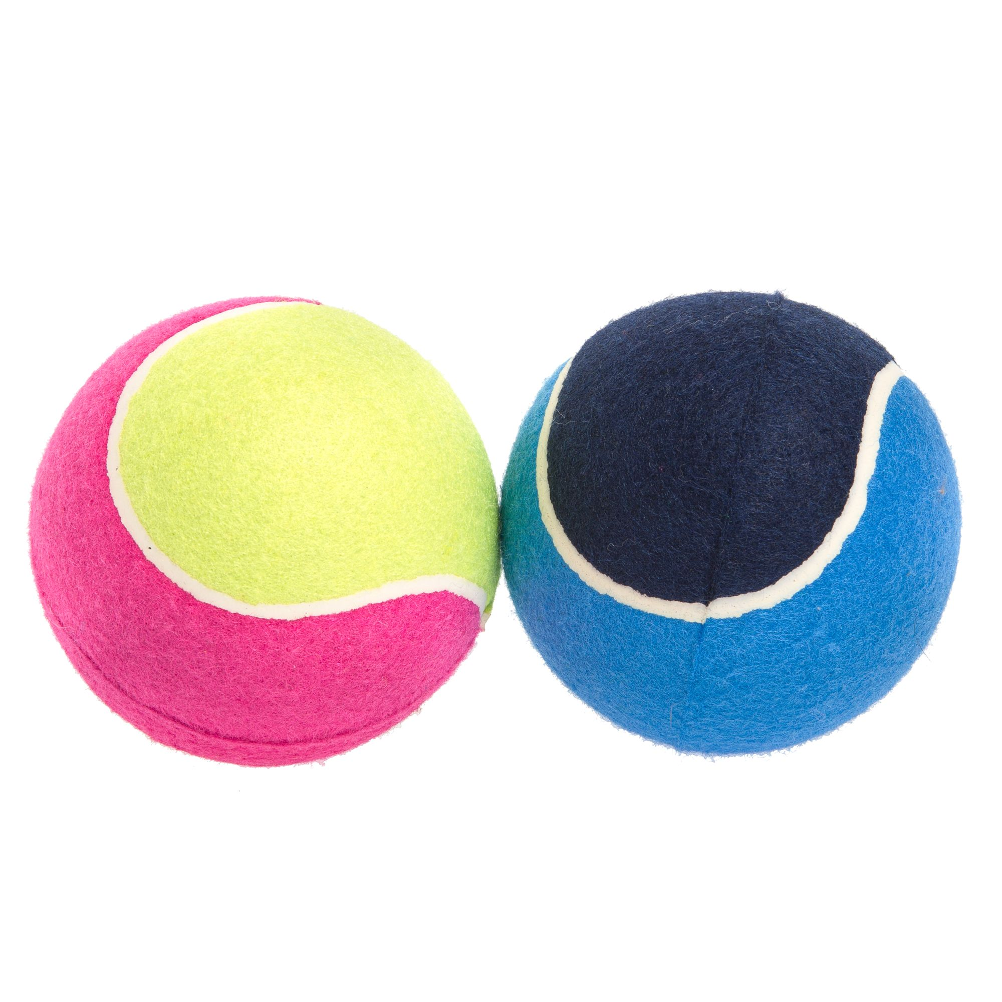 Top Paw Giant Tennis Balls 2-Pack Dog Toy size: 5 in 5263955
